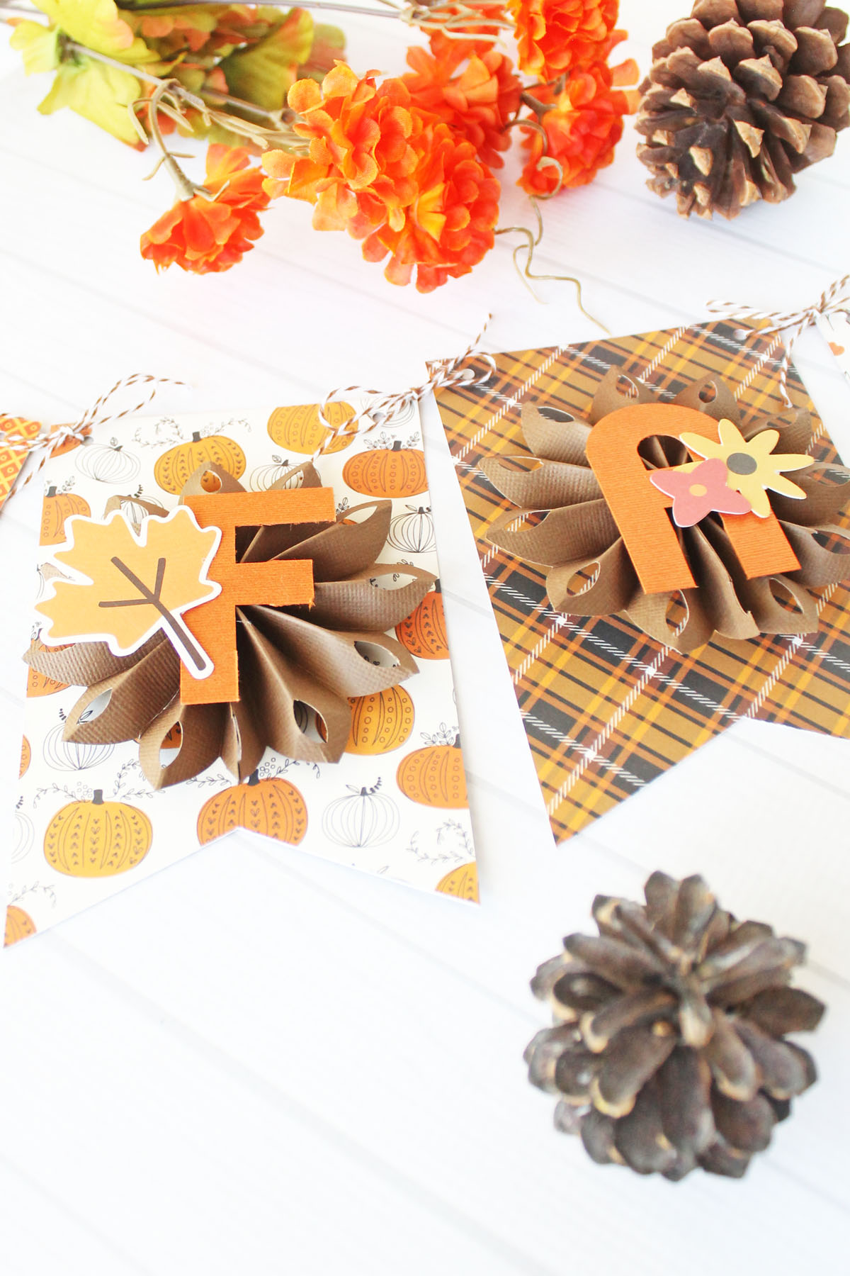 Fall Banner by Laura Silva for We R Memory Keepers