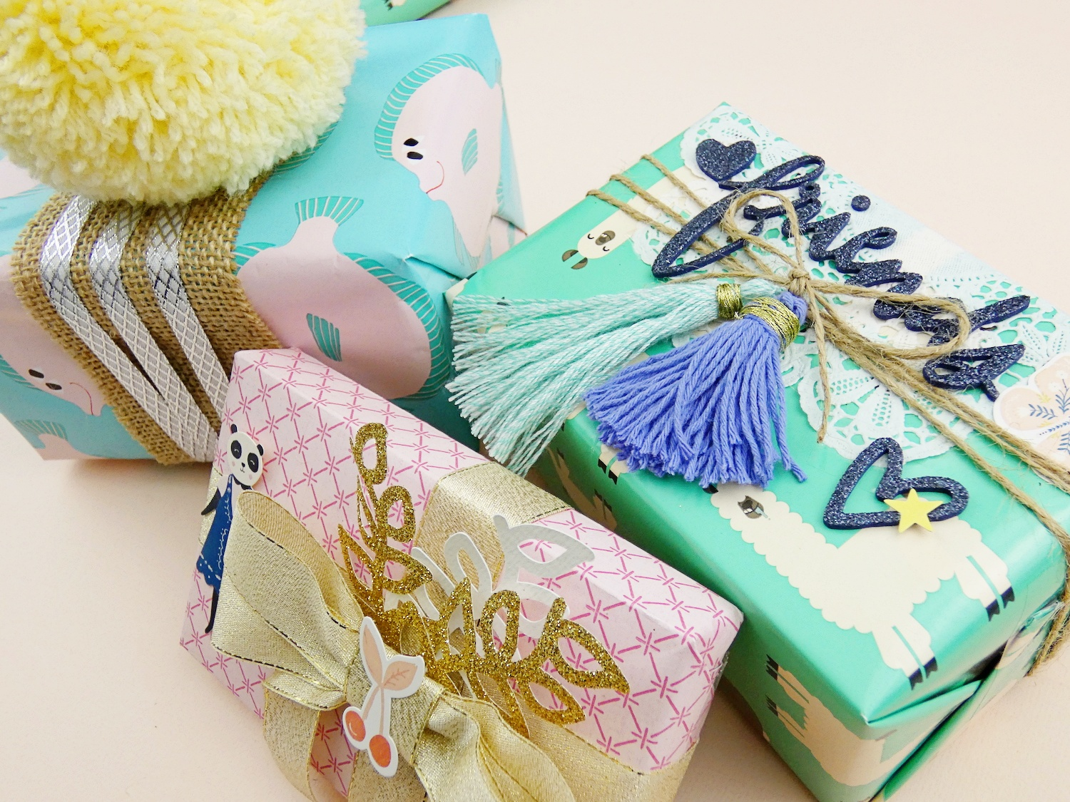 DIY Gift Wrap by Soraya Maes for We R Memory Keepers