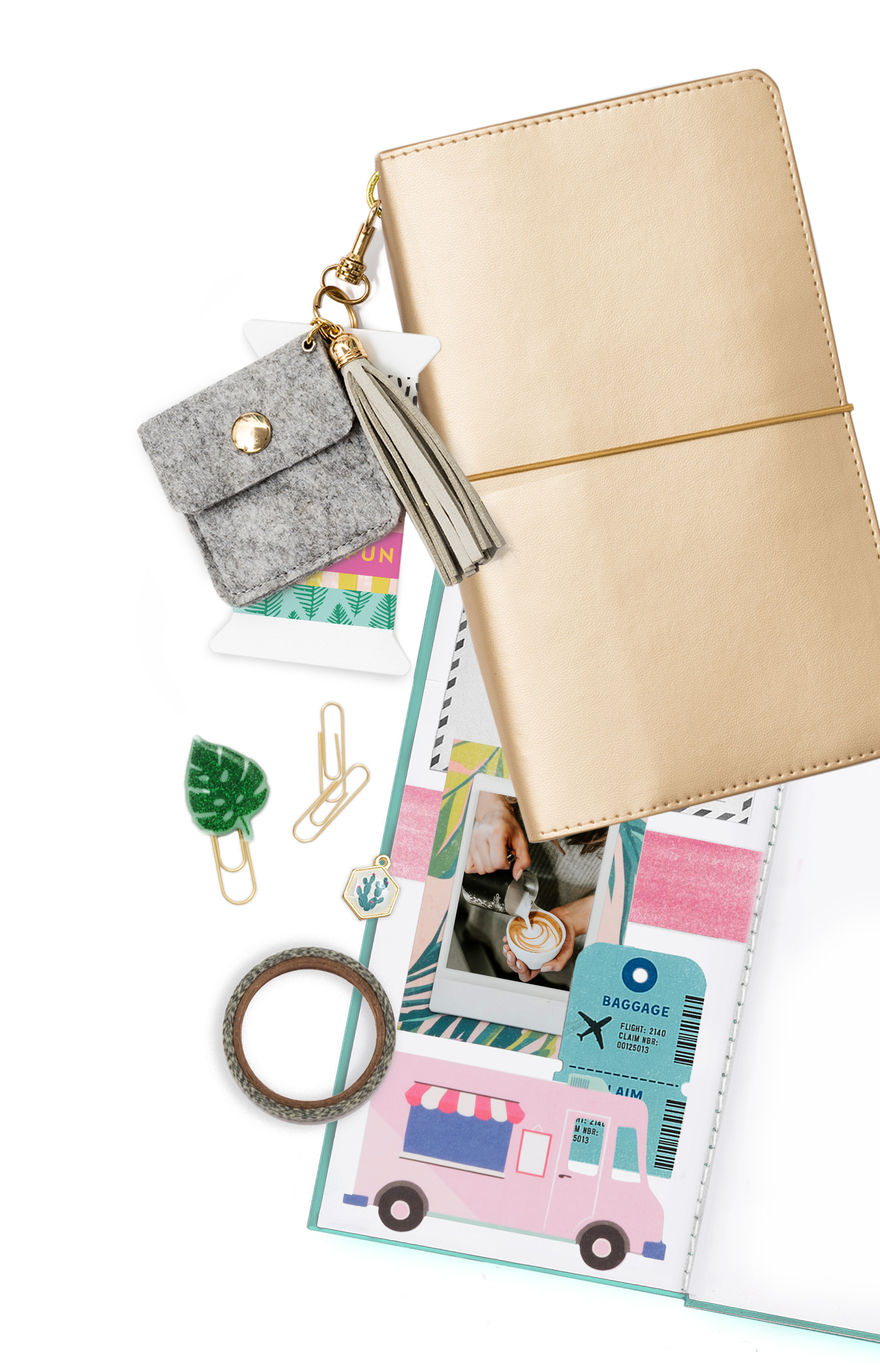 Washi Tape Keychain by We R Memory Keepers