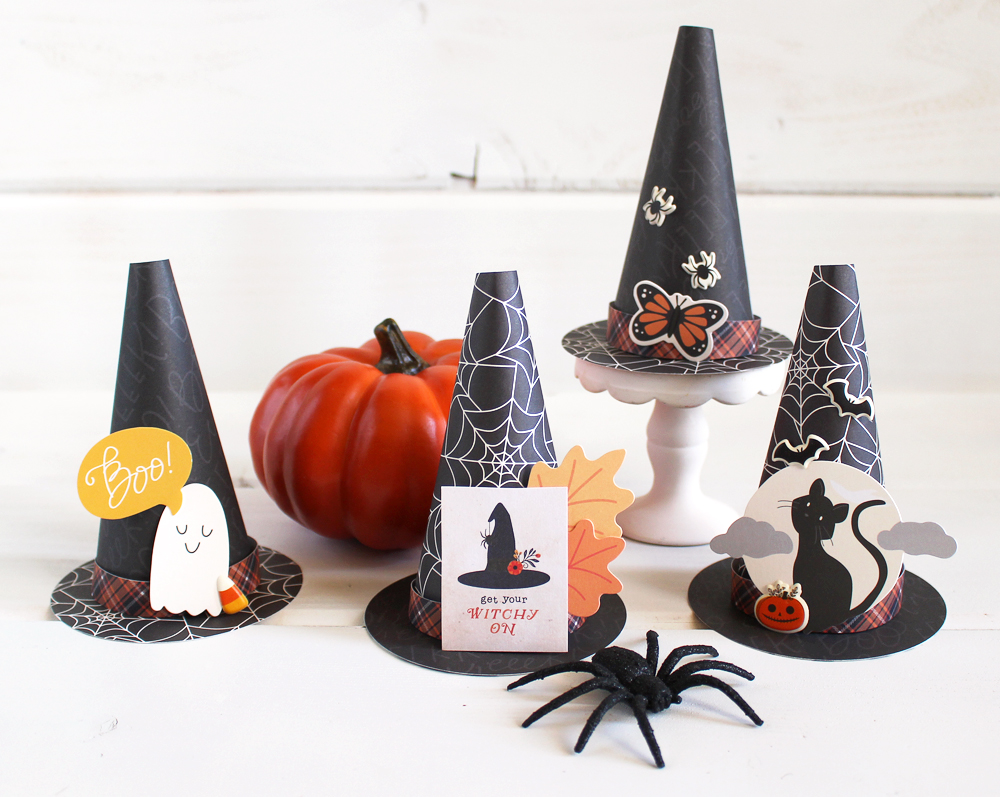 We R Memory Keepers DIY Party Board Witch Hats
