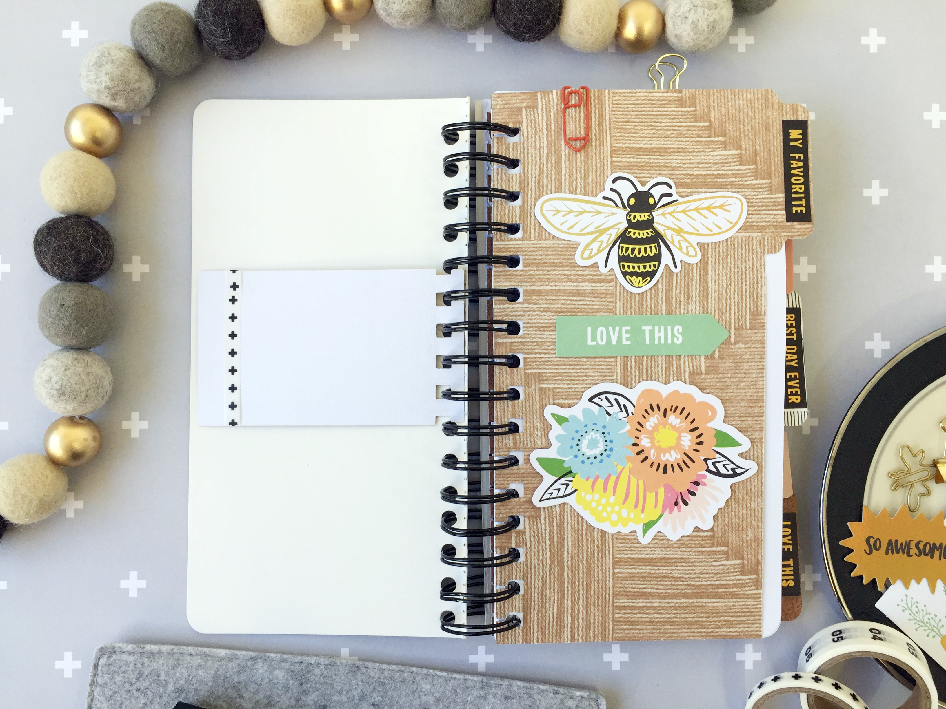 the Journal Guide and the Interchangeable Stamps