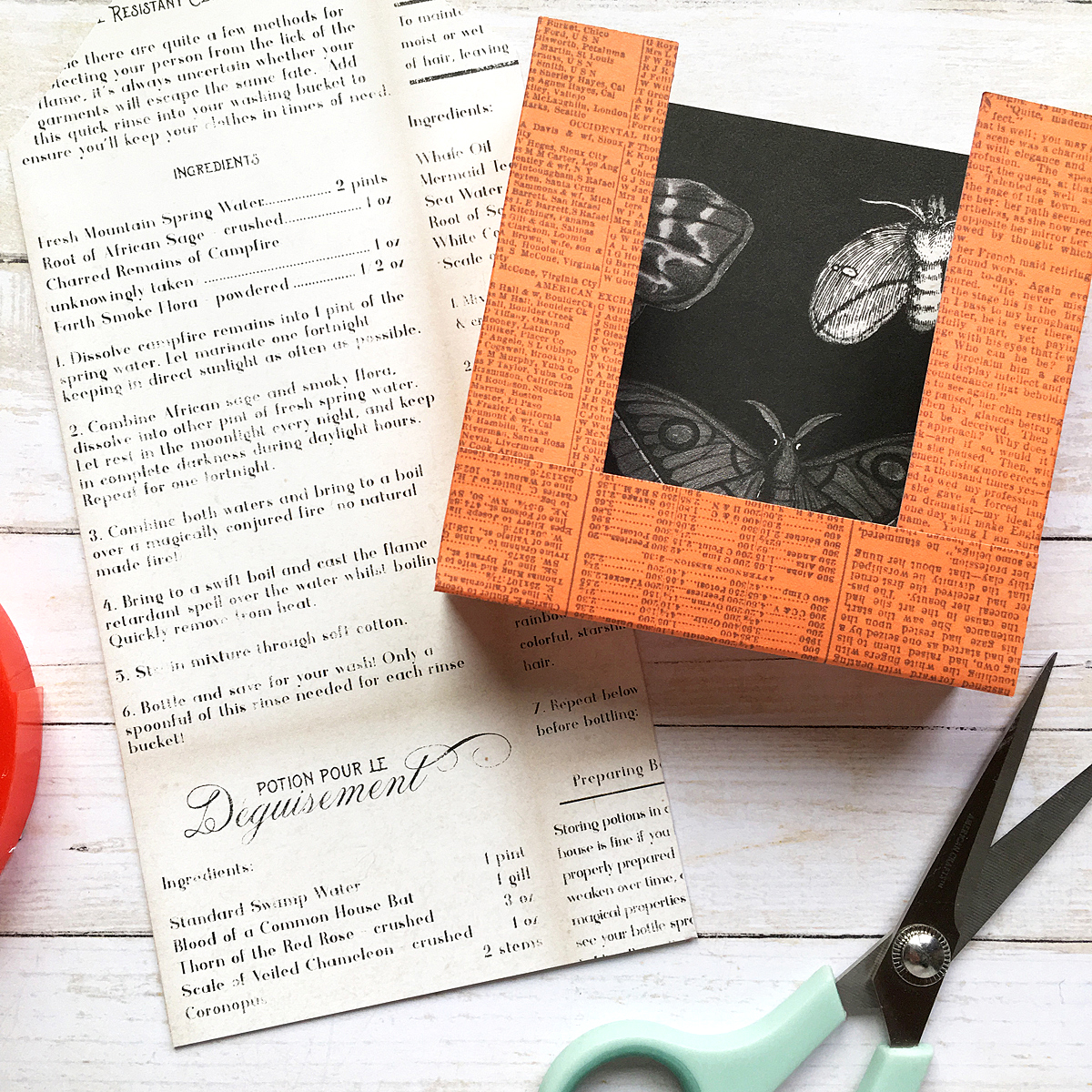 DIY Halloween Treat Boxes by Enza Gudor for We R Memory Keepers