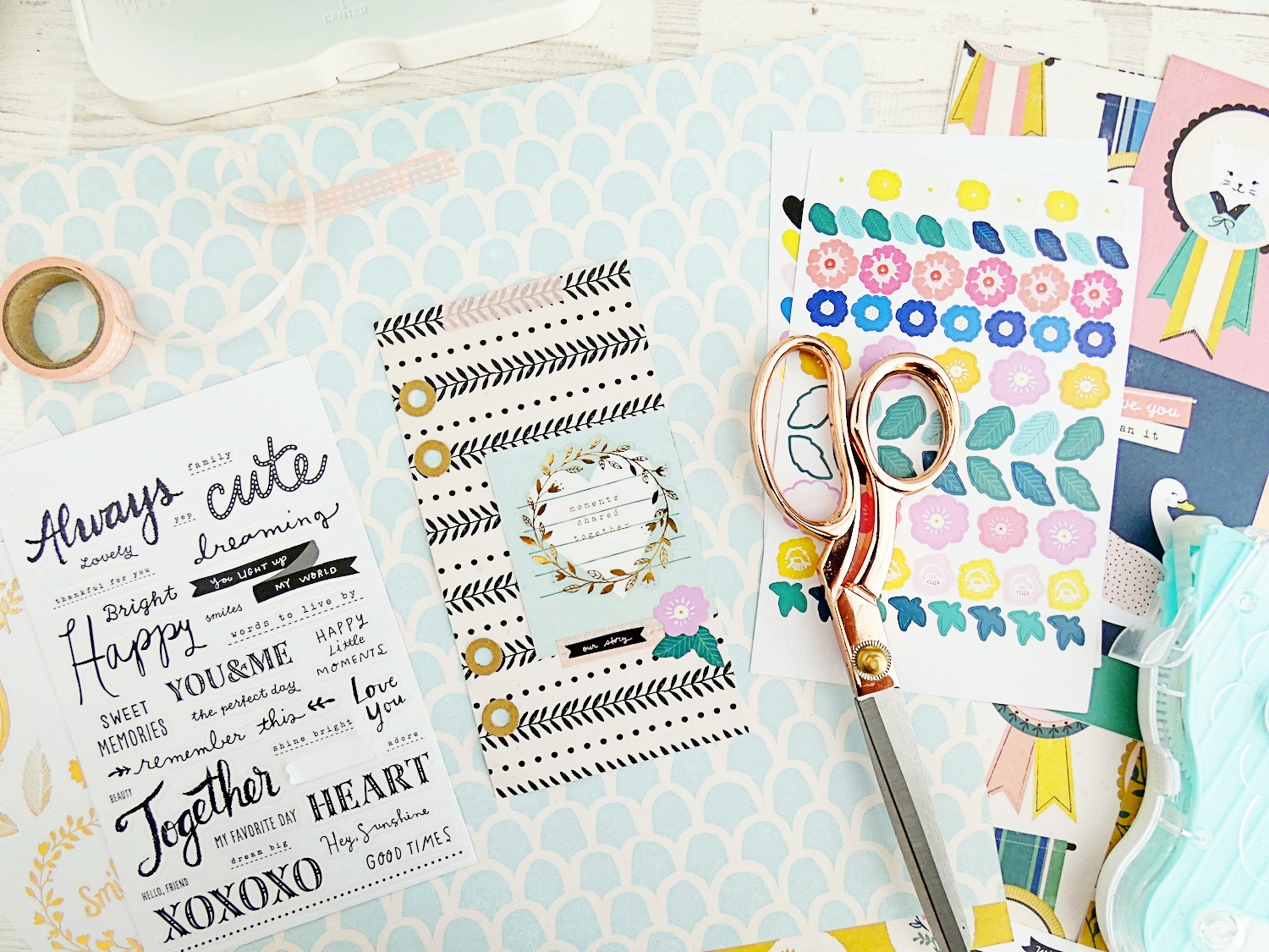 Memory Planner with the Planner Punch Board and the Hole Reinforcer Punch by Soraya Maes for We R Memory Keepers