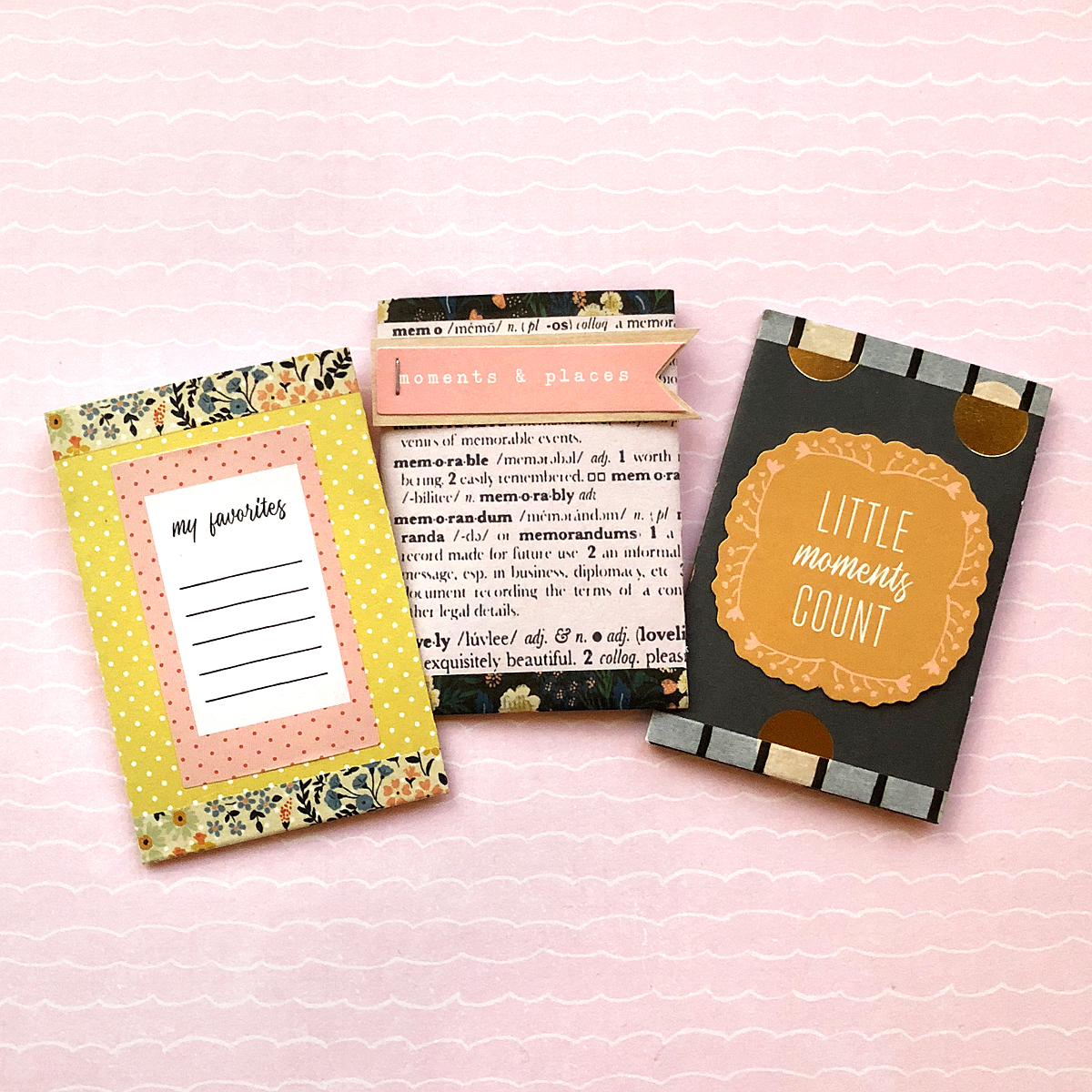 Journal Pockets made with the Journal Guide by Enza Gudor for We R Memory Keepers