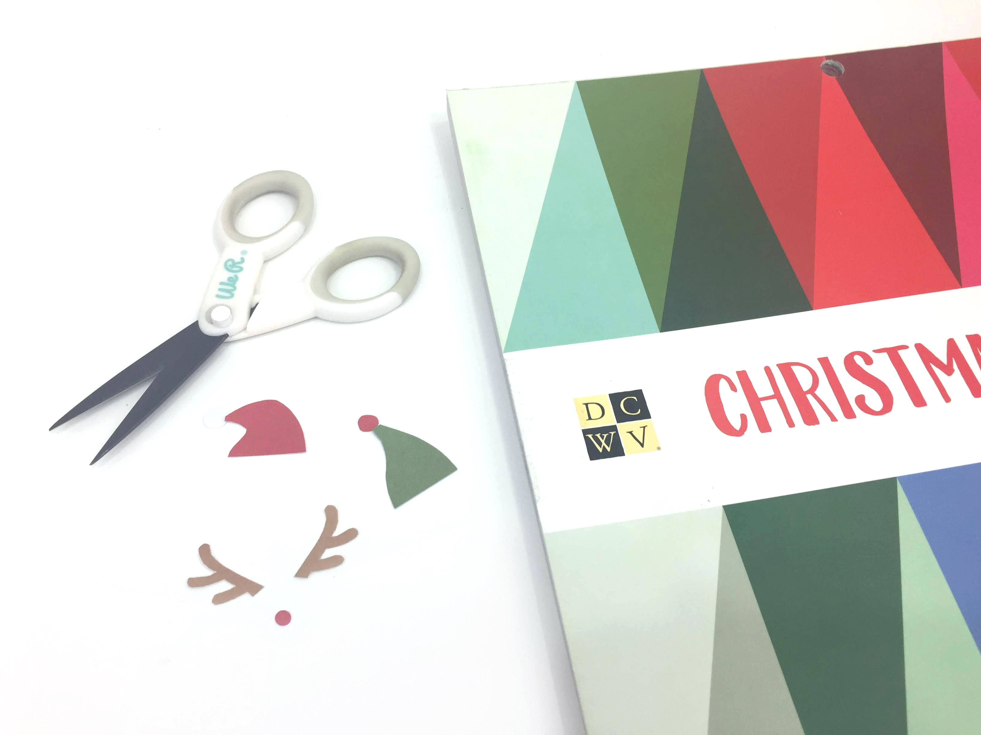 Enoji Christmas Cards by Aly Dosdall for We R Memory Keepers