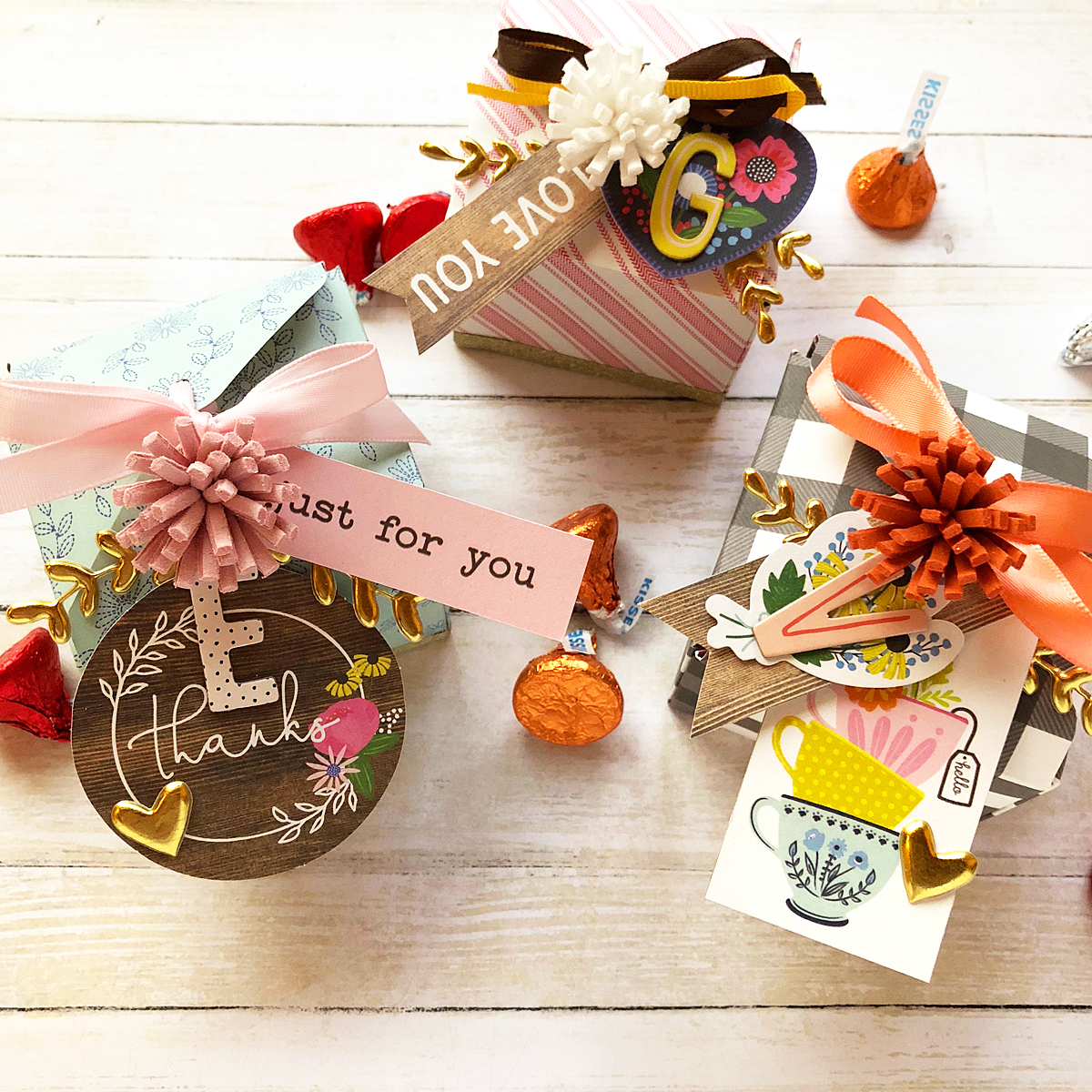 Thanksgiving placecards with the 123 Punch Board by Enza Gudor for We R Memory Keepers