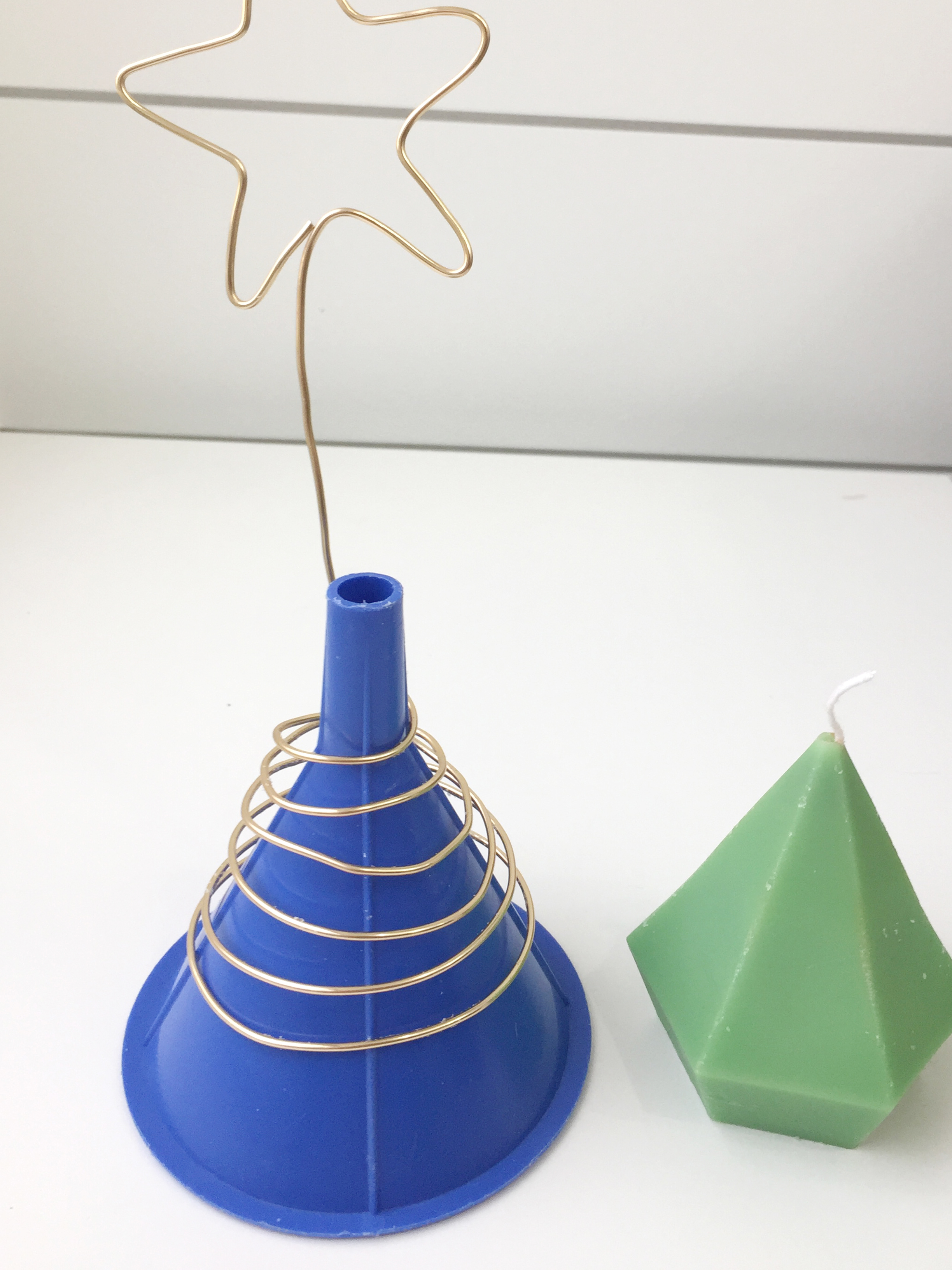 step out 2_wrap wire around cone shape