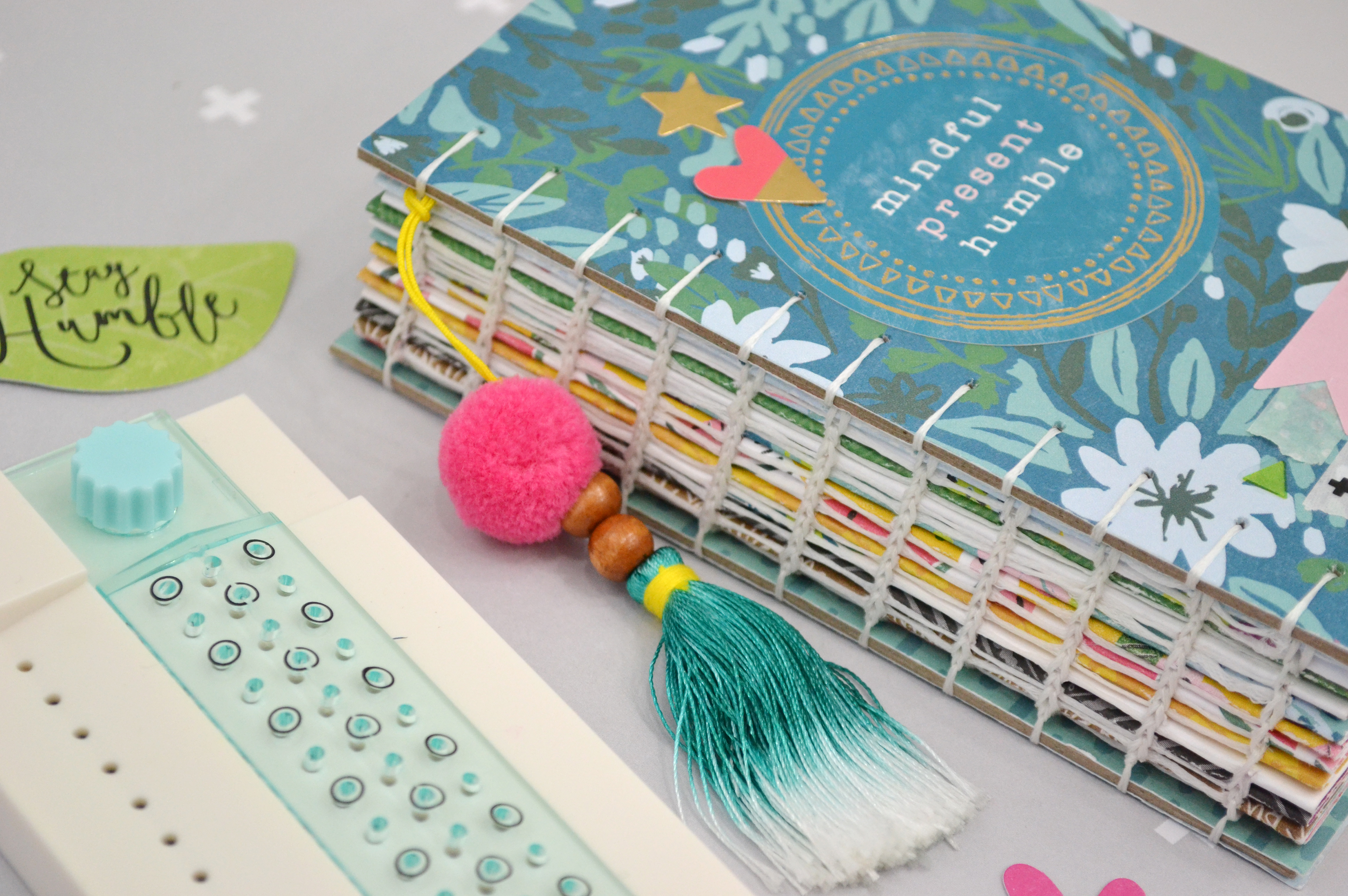2019 Coptic Bound Planner by Aly Dosdall for We R Memory Keepers