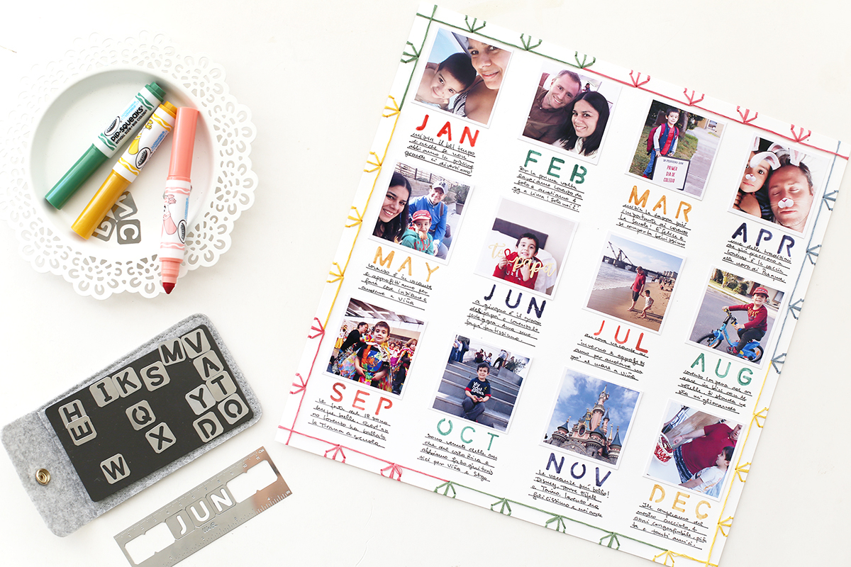 2018 Year In Review Scrapbook Page featuring the Journal Studio by Eva Pizarro for We R Memory Keepers