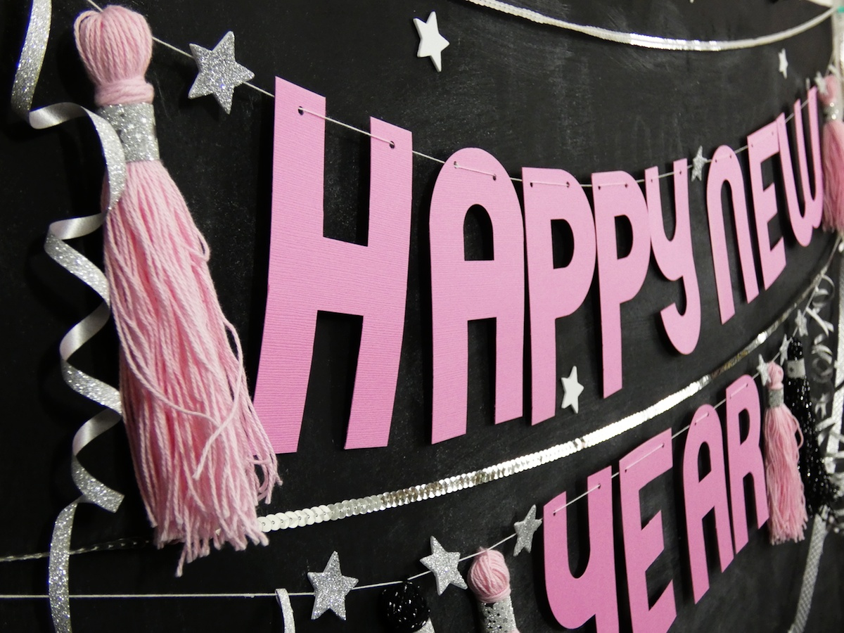 New Year's Eve Party Decor by Soraya Maes for We R Memory Keepers