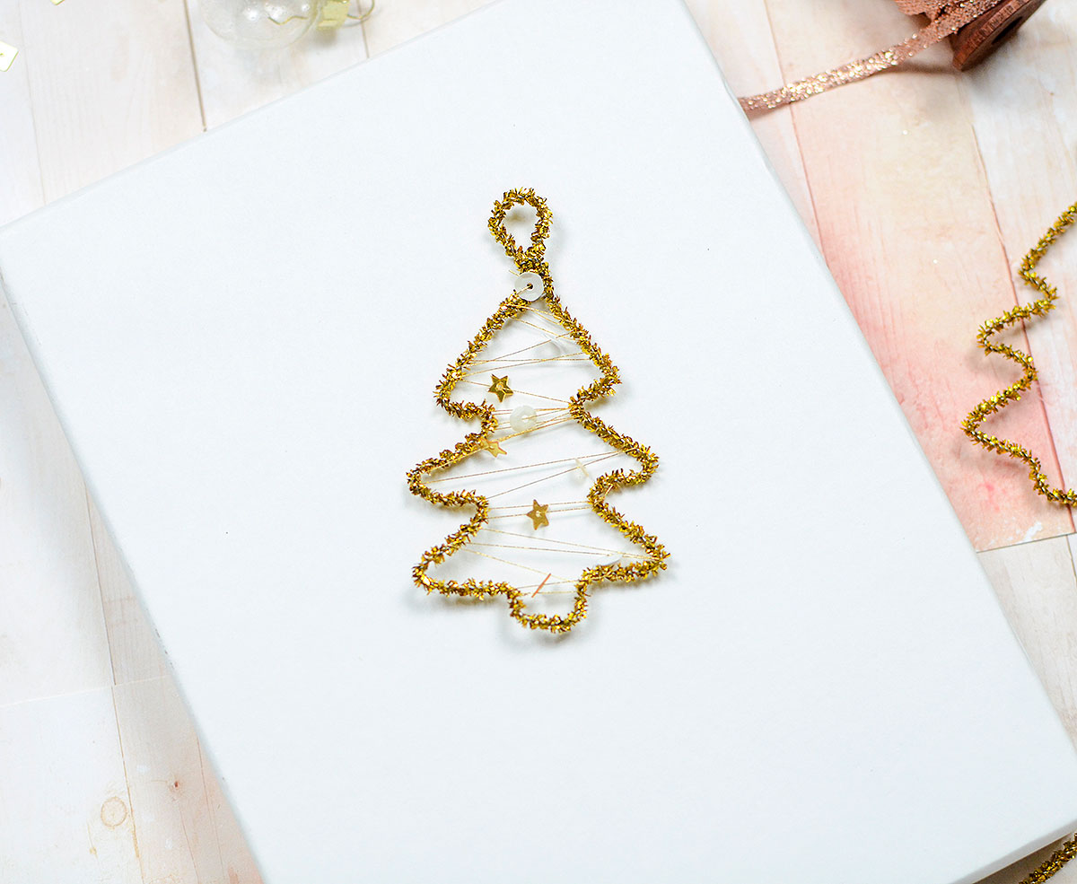 DIY Holiday Ornaments by Rebecca Luminarias for We R Memory Keepers