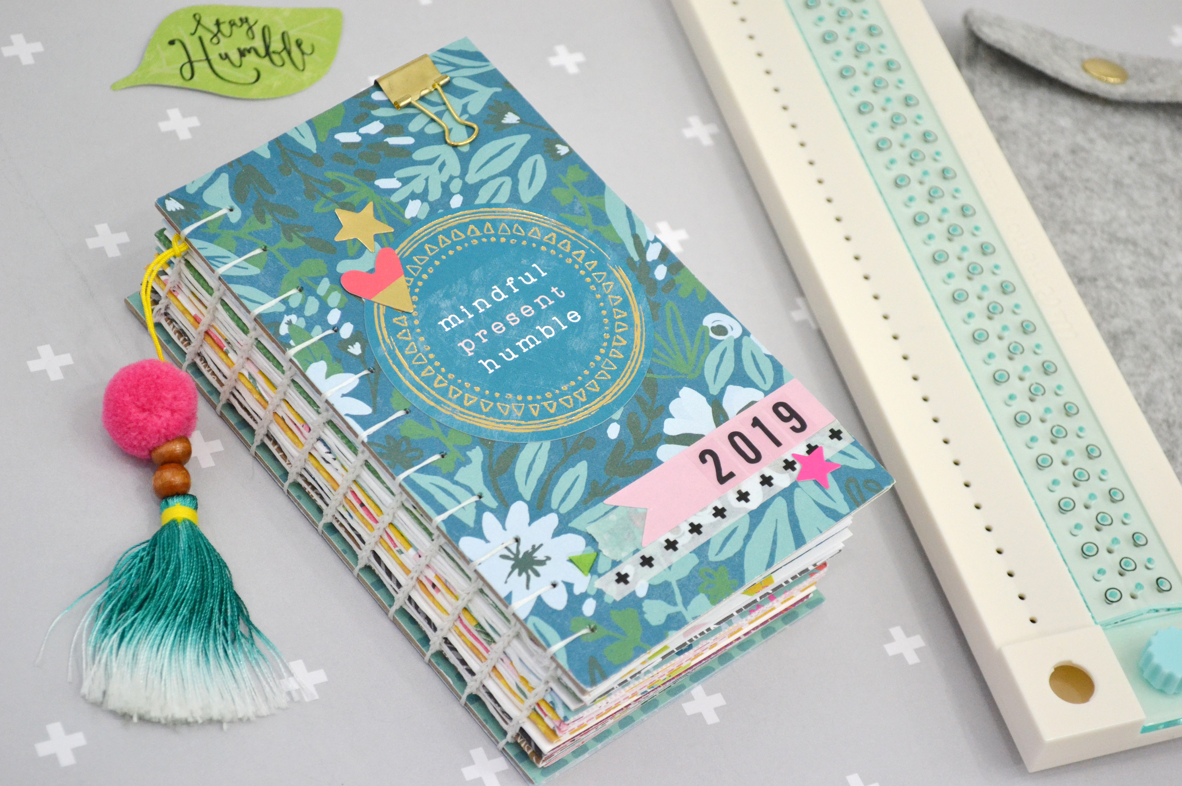 2019 Coptic Bound Planner by Aly Dosdall for We R Memory Keepers 3