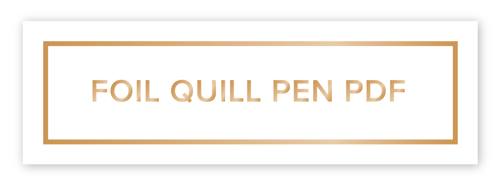 Instructions Foil Quill Pen We R Memory Keepers