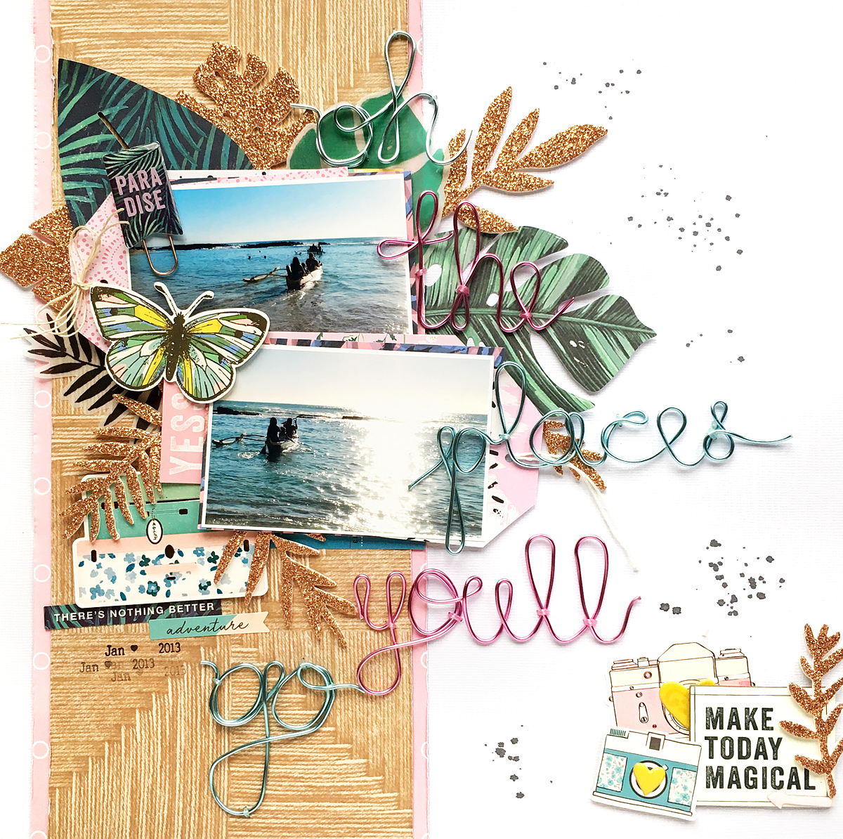 Travel Layout by Enza Gudor8