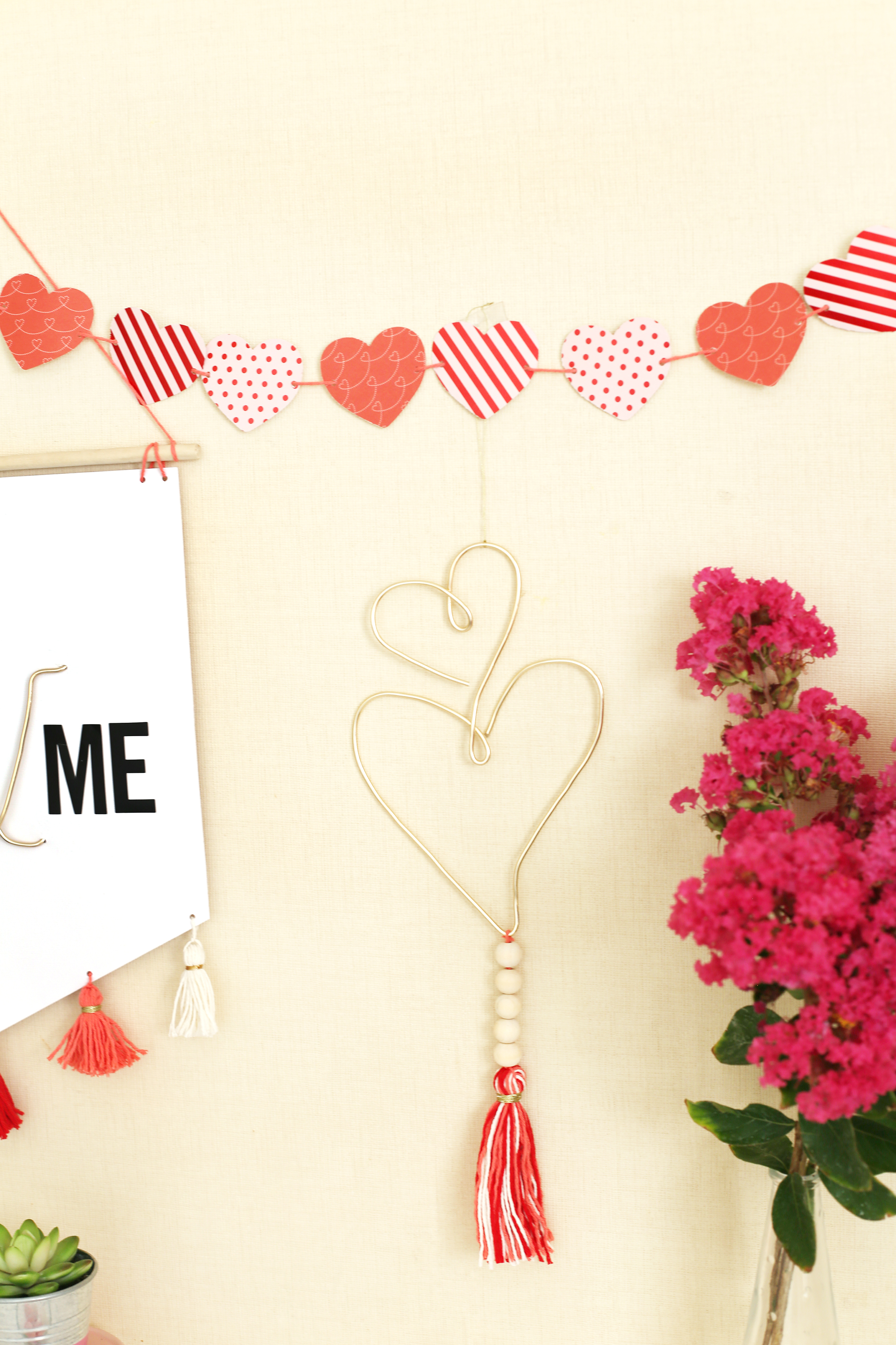 DIY Valentine's Day Decor with the Big Happy Jig by Eva Pizarro for We R Memory Keepers