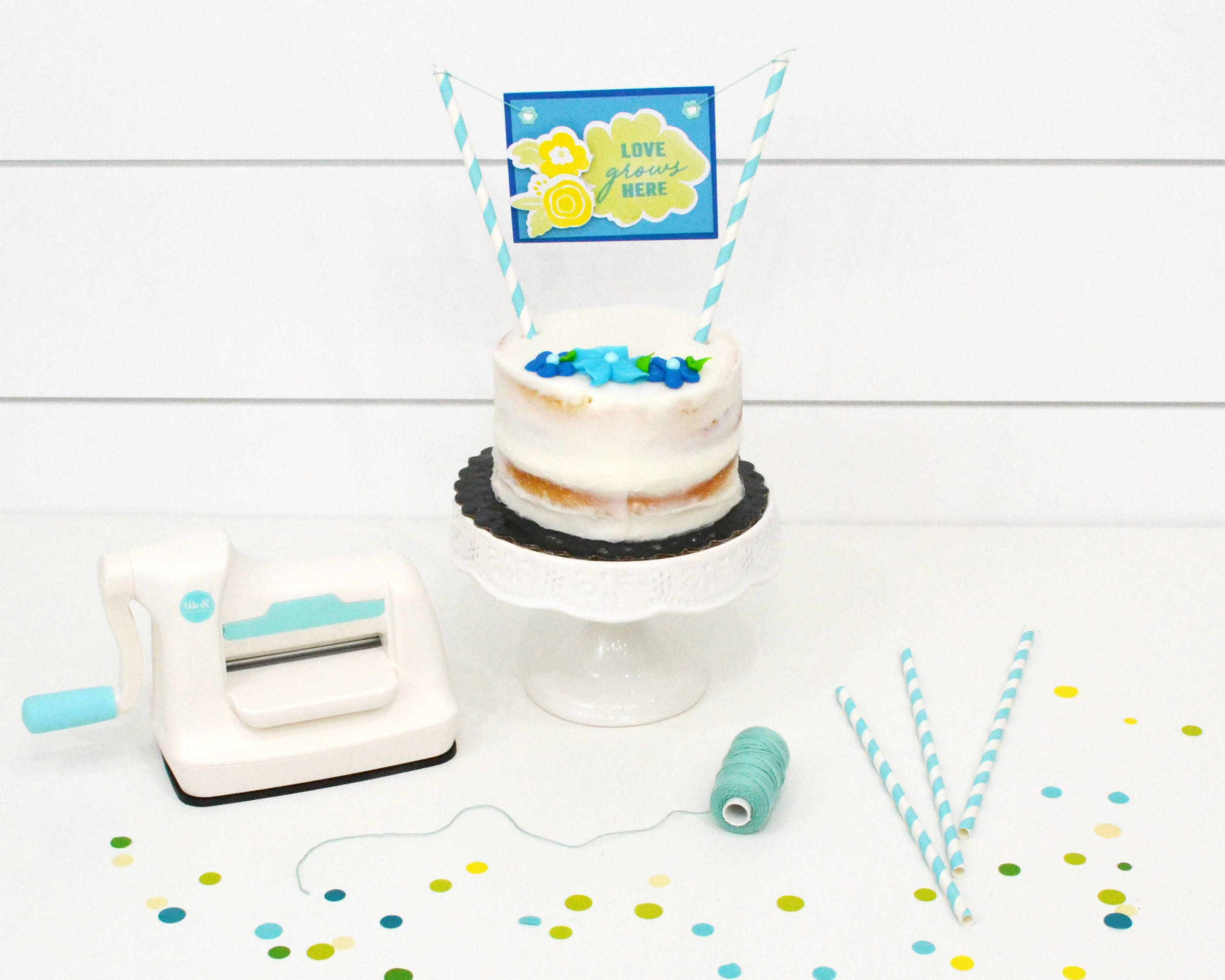 Mini Evolution Advanced Cake Topper by Aly Dosdall for We R Memory Keepers