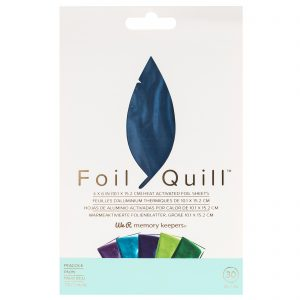 660673_WR_FoilQuill_FoilSheets_Peacock_Front