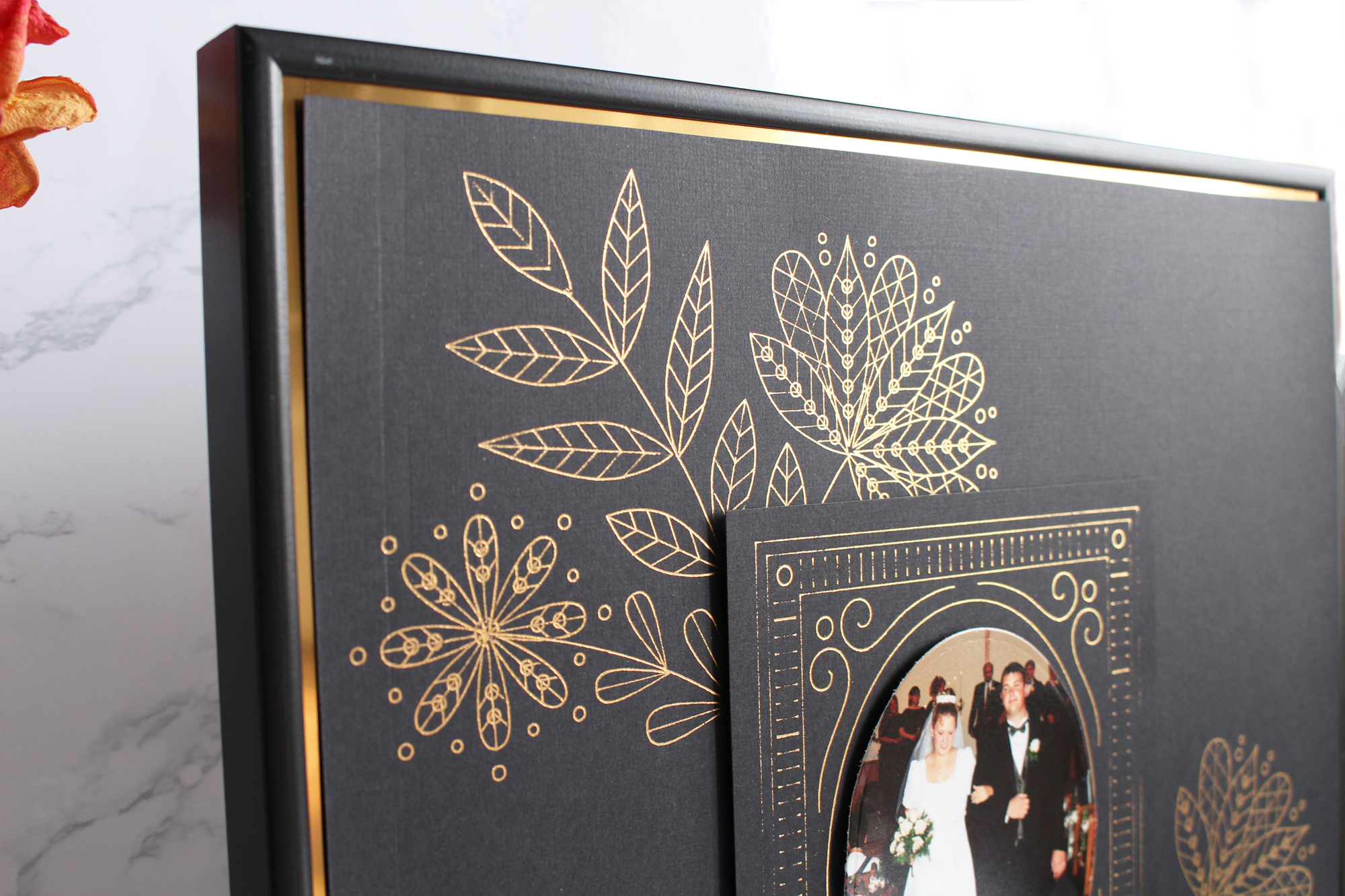 Foil Quill Photo Frame by Kimberly Crawford for We R Memory Keepers