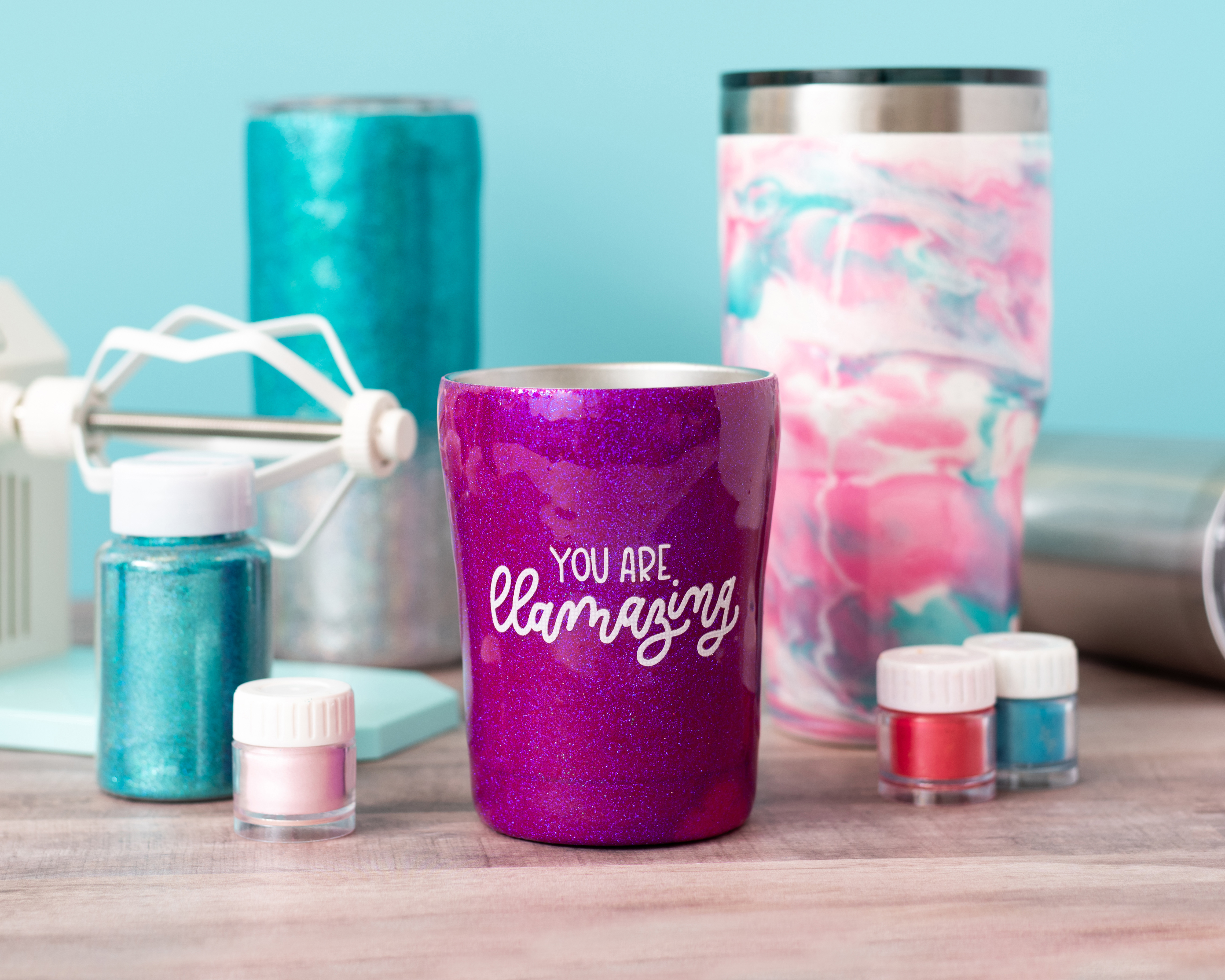 Spin It Tumbler Turner + Accessories by We R Memory Keepers available at Michaels Stores