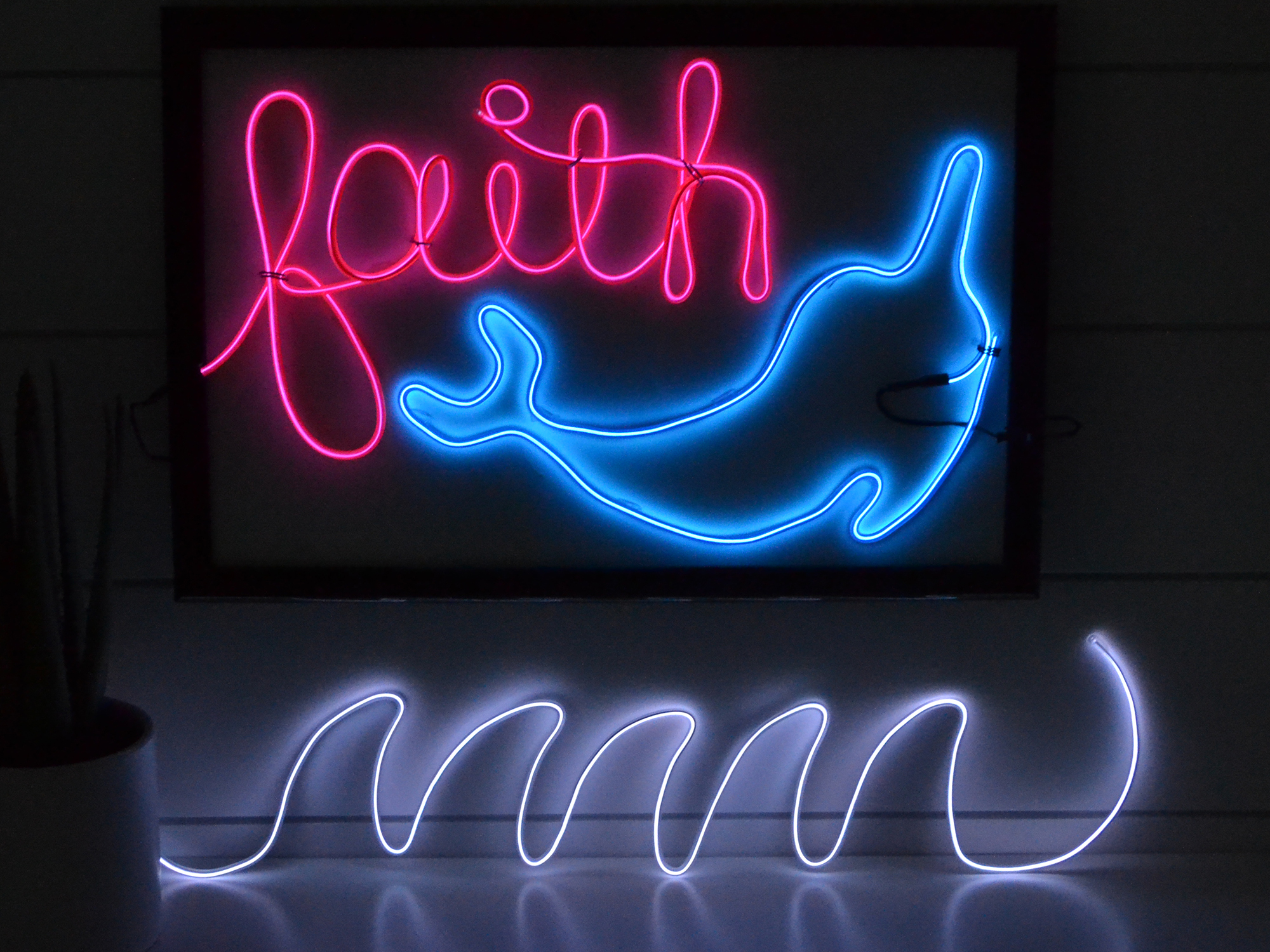 DIY Kids Neon Sign by Aly Dosdall for We R Memory Keepers