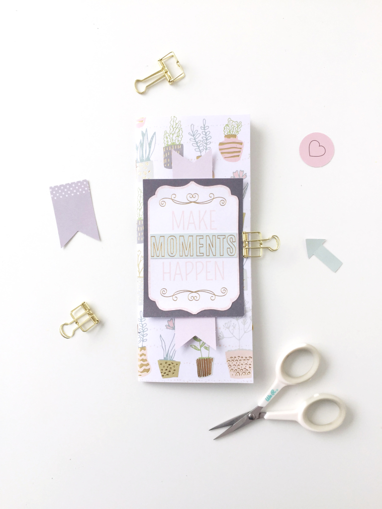 Handmade Journal for Mother's Day from We R Memory Keepers