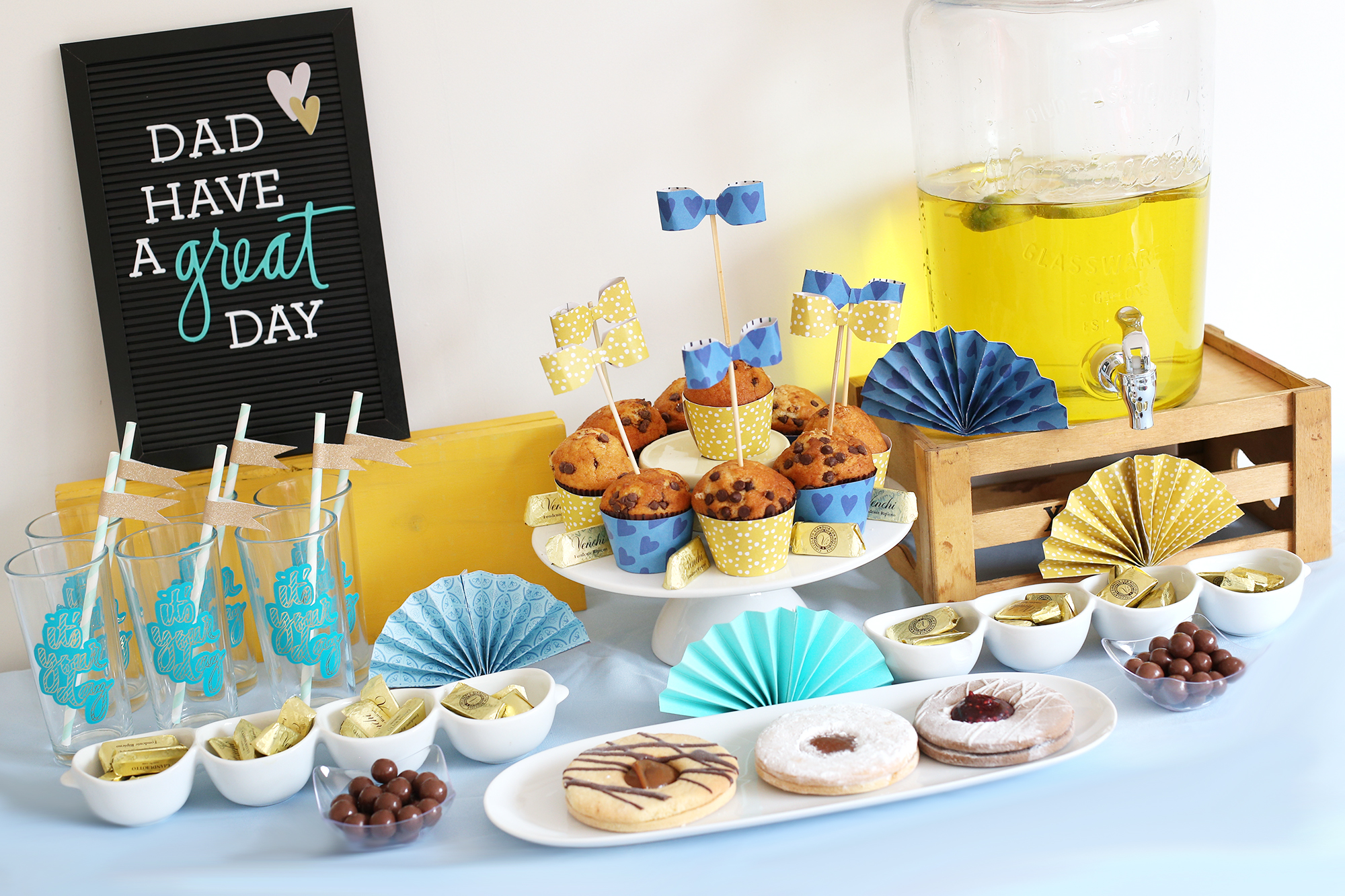 Father's Day Party Decor by Eva Pizarro for We R Memory Keepers