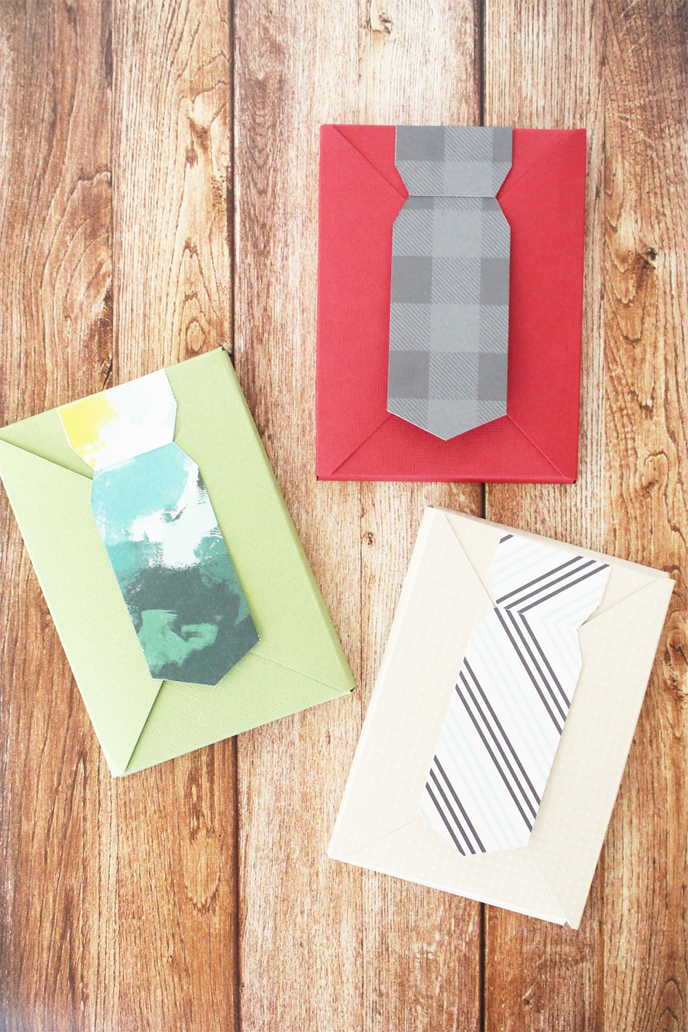 Necktie Gift Boxes by We R Memory Keepers