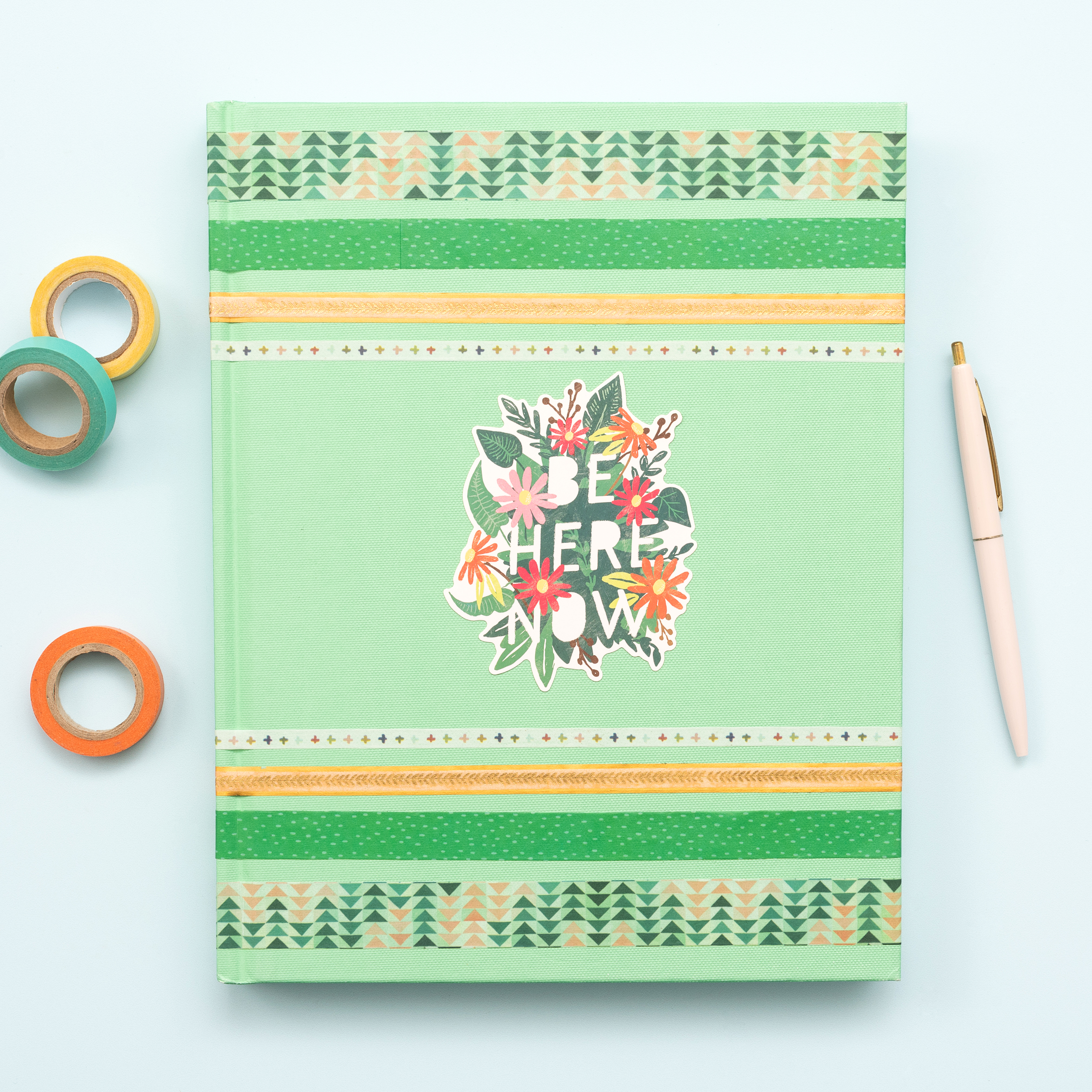 Planner Cover featuring the Mini Laser Square by We R Memory Keepers
