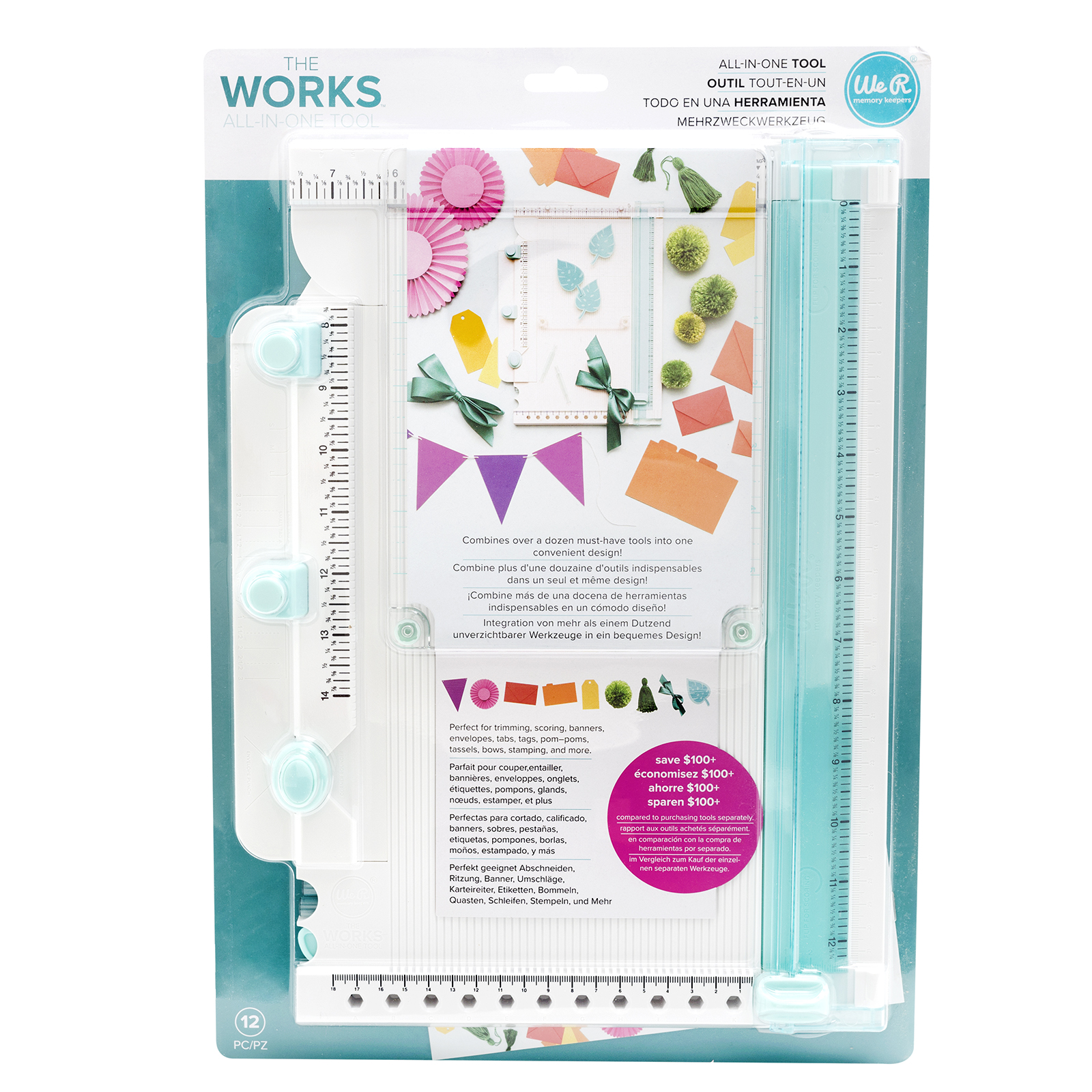 The Works All In One Tool by We R Memory Keepers