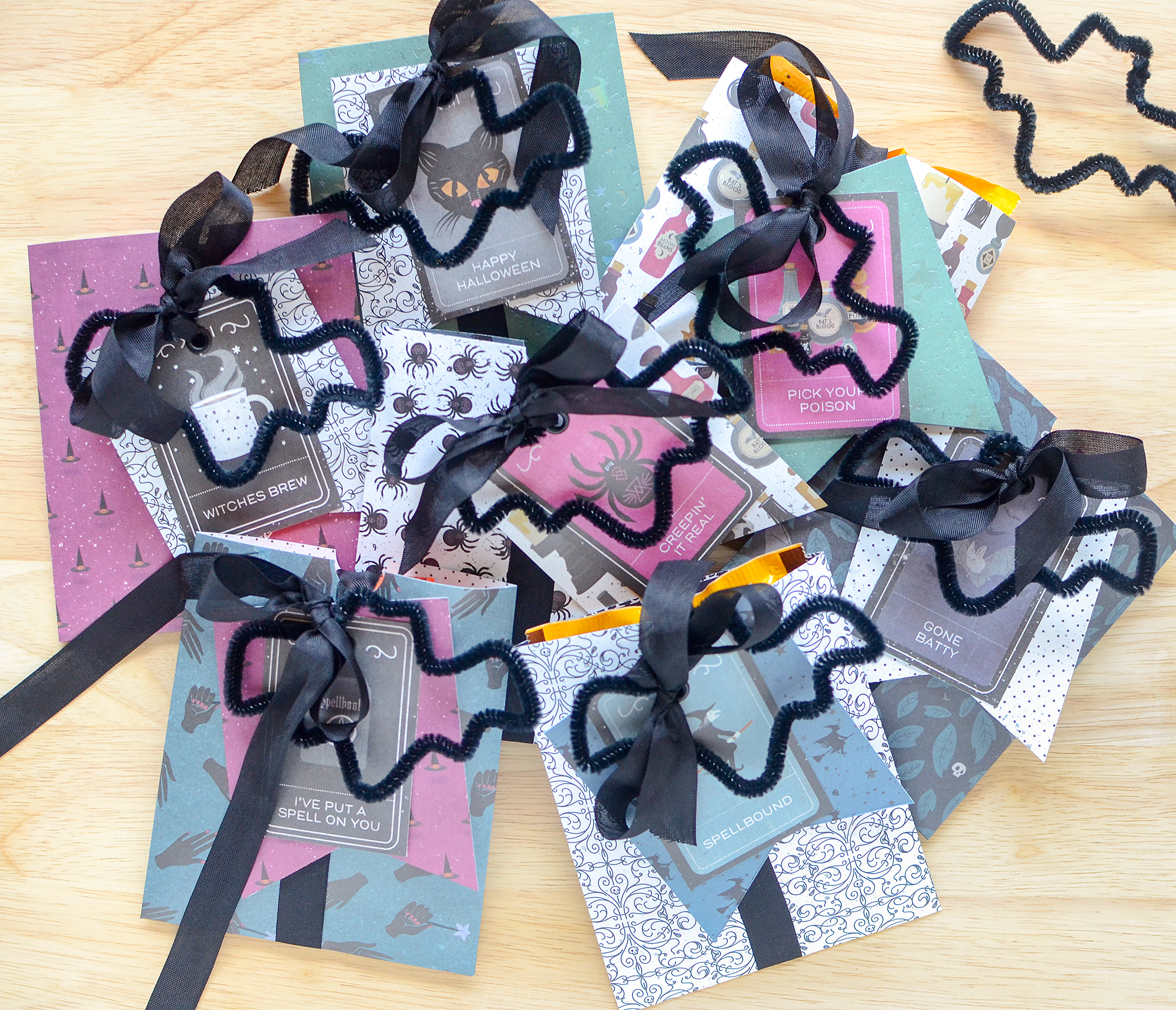 Halloween Party Pocket Favors by Rebecca Luminarias for We R Memory Keepers