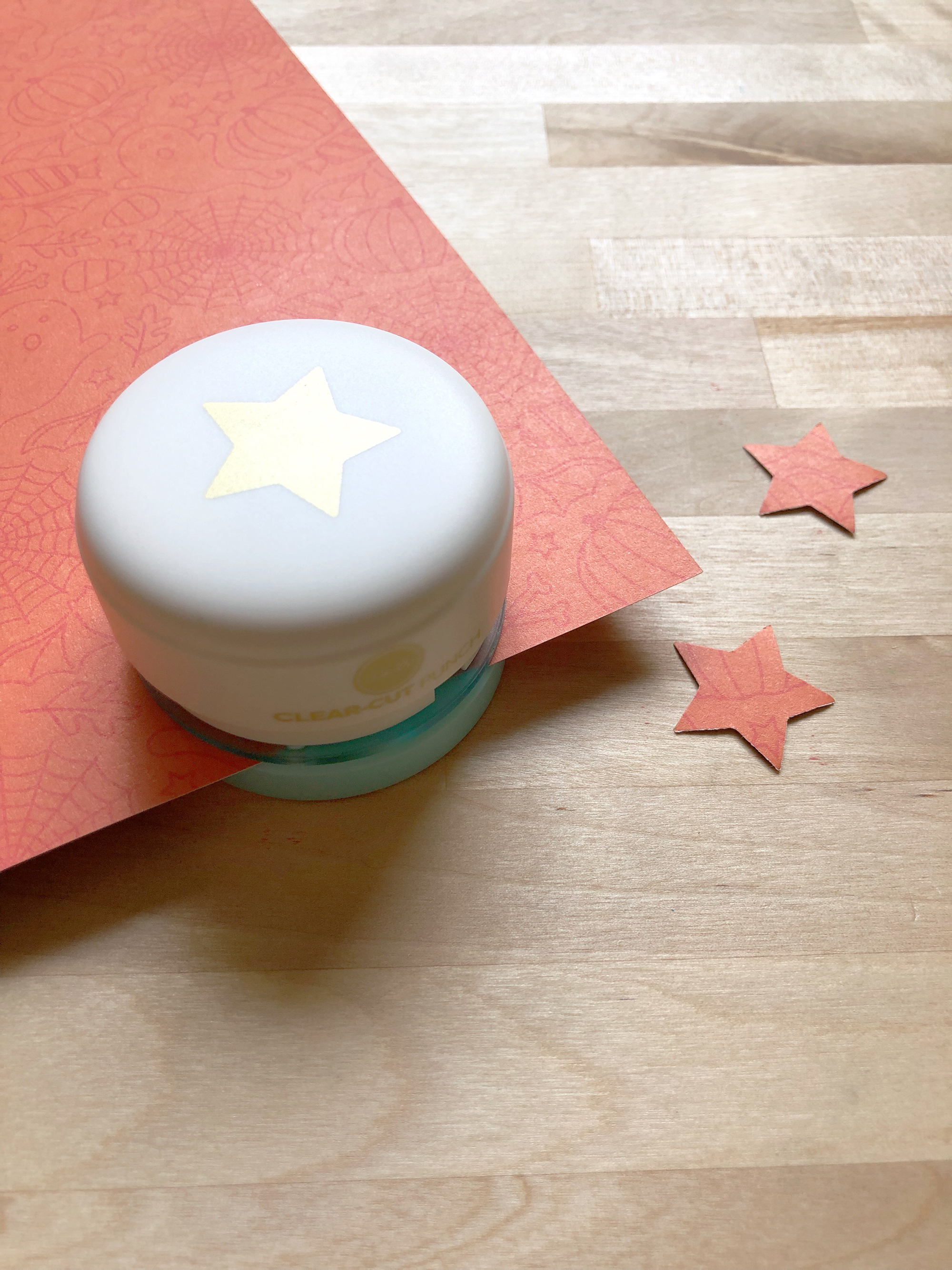 Mini Clear Cut Star Punch by We R Memory Keepers