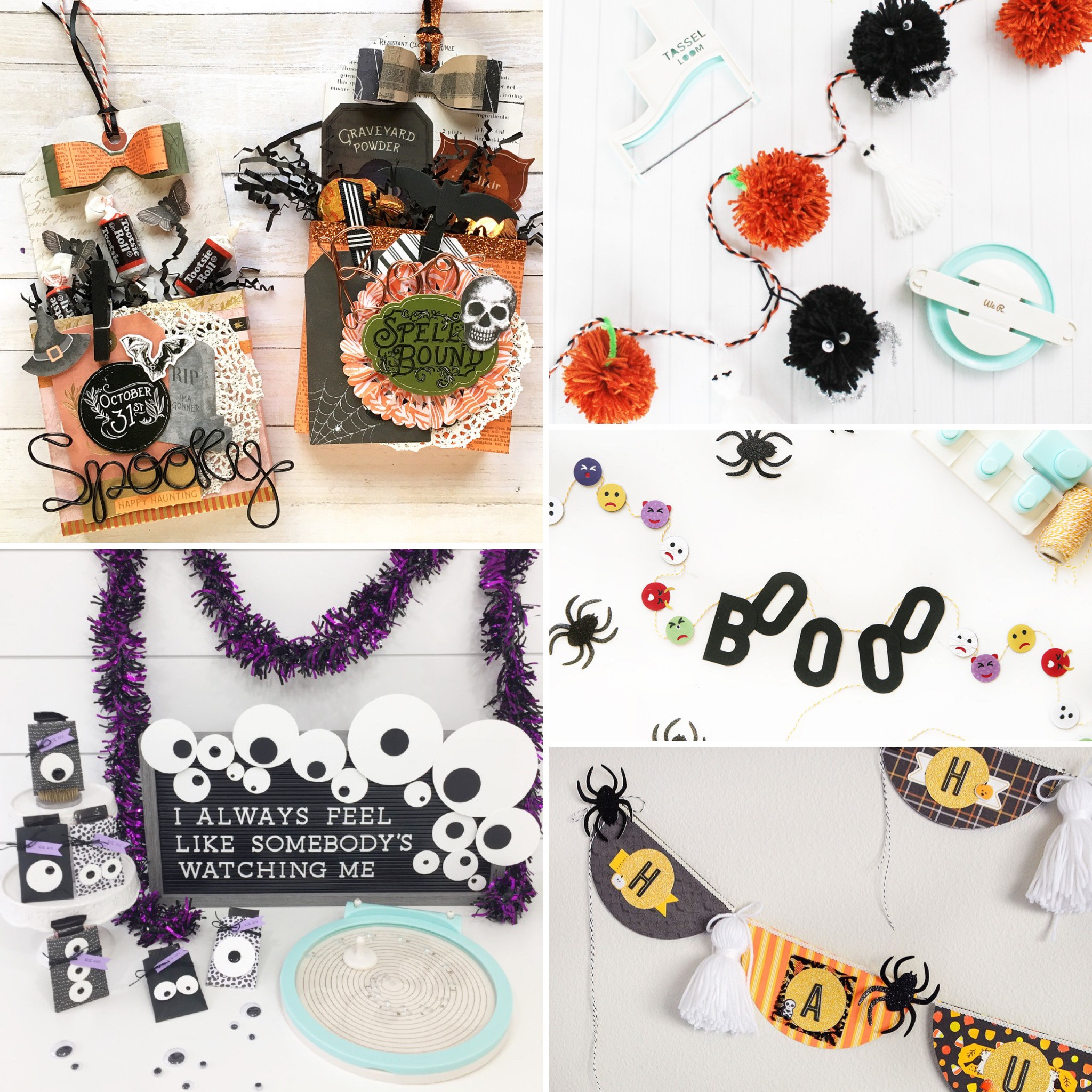 Five Fun Halloween Craft Ideas by We R Memory Keepers