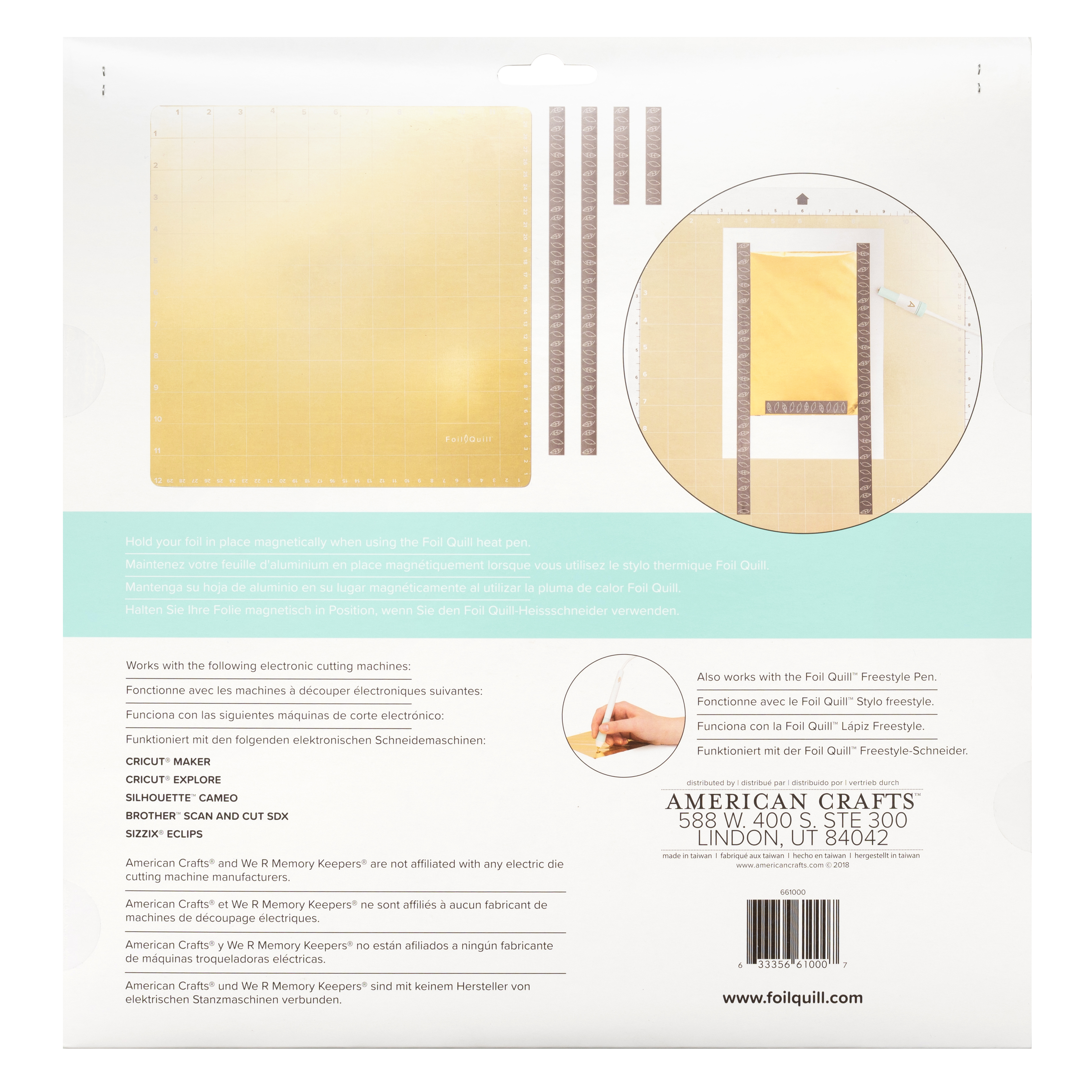 12 X 12 Magnetic Mat We R Memory Keepers