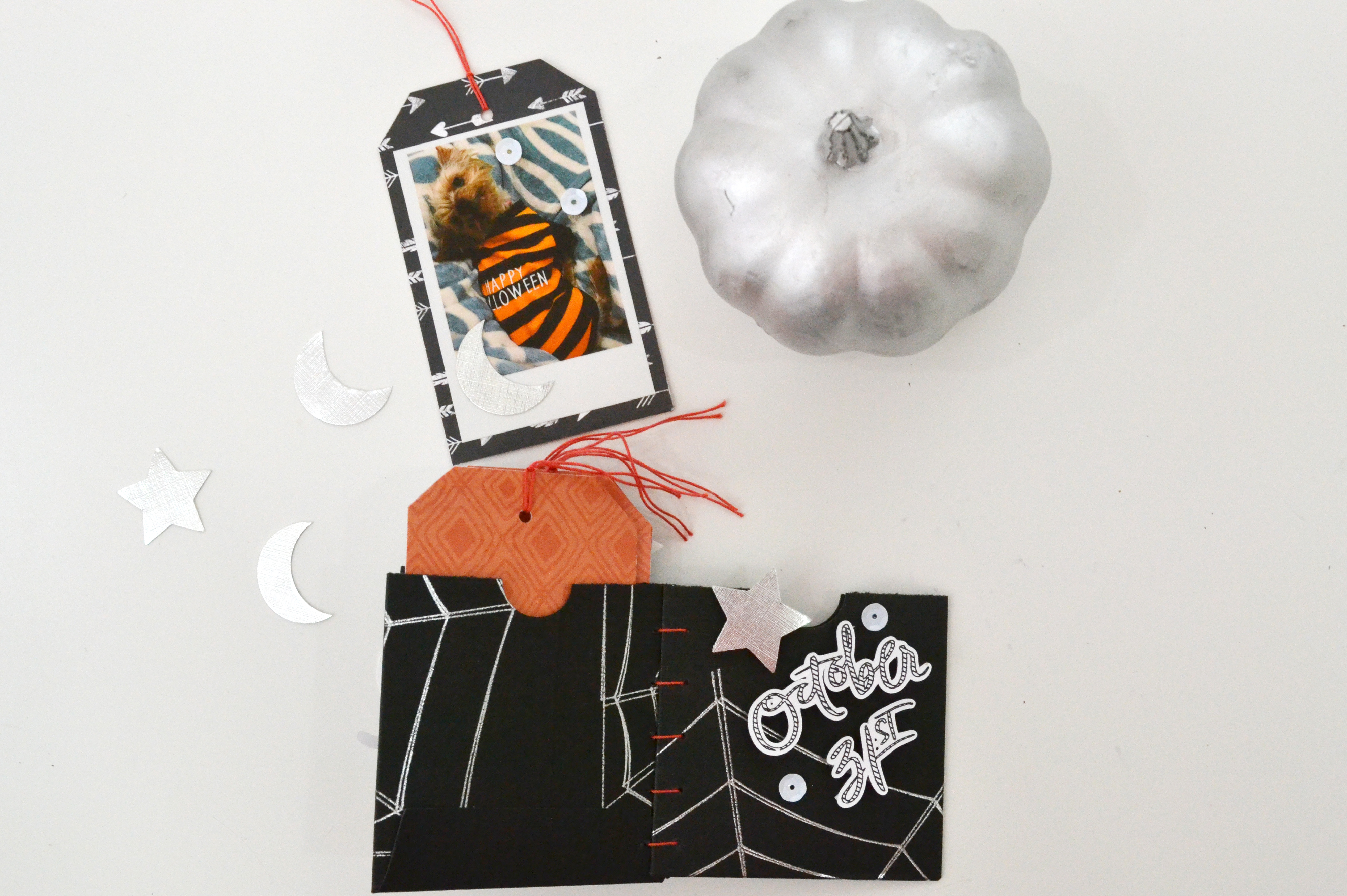Halloween Mini Album with the Foil Quill by Aly Dosdall for We R Memory Keepers 14