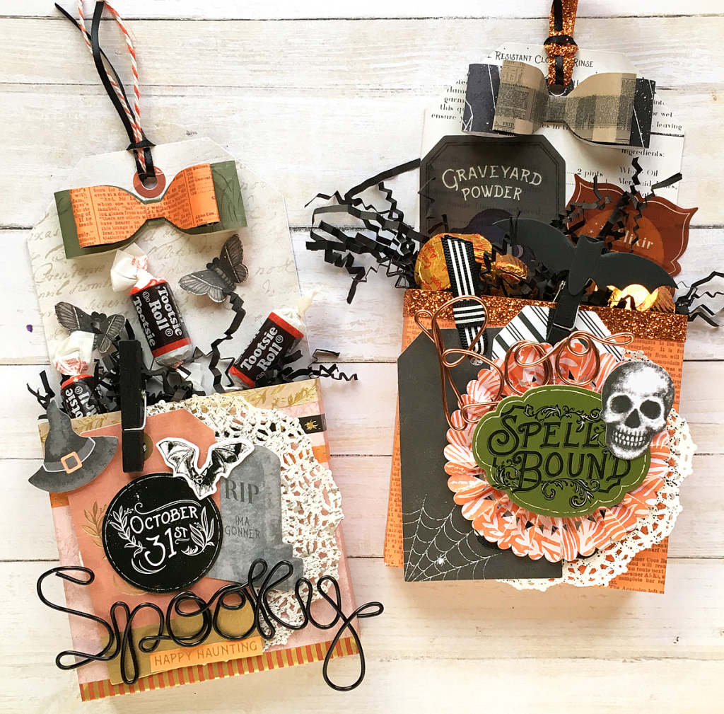 DIY Halloween Treat Boxes by We R Memory Keepers