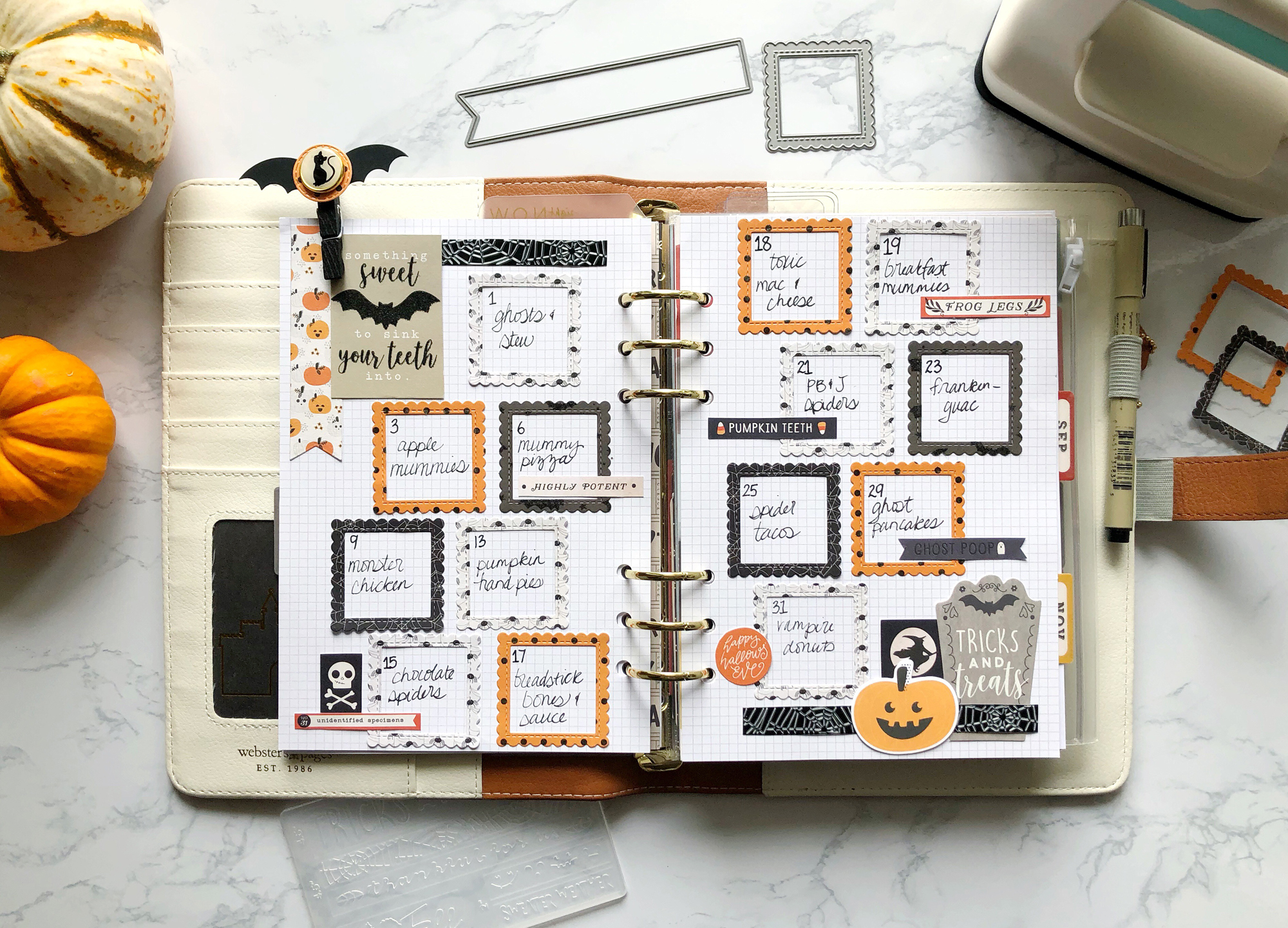 DIY Planner Embellishments with the Mini Evolution