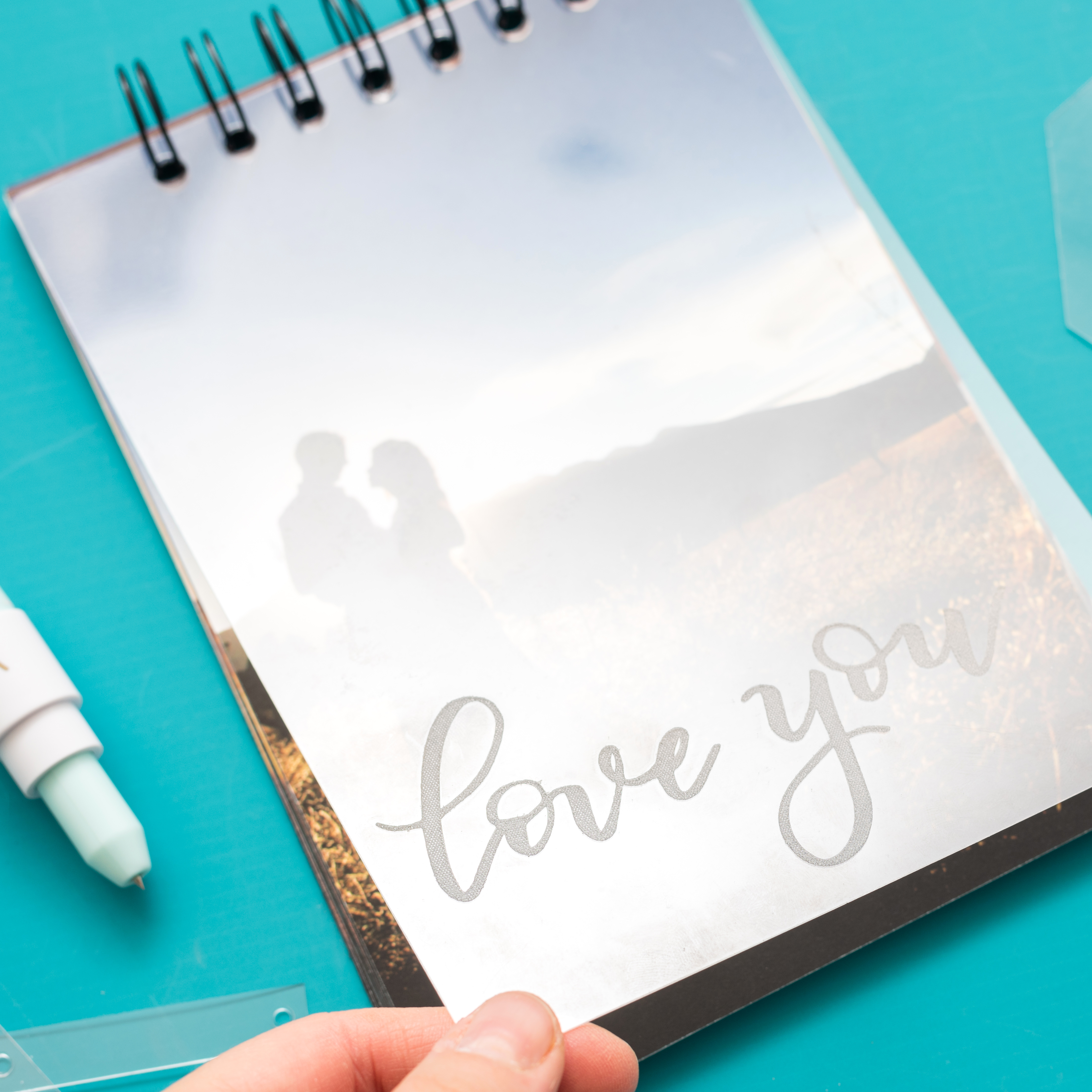DIY Notebook Cover with the Etch Quill