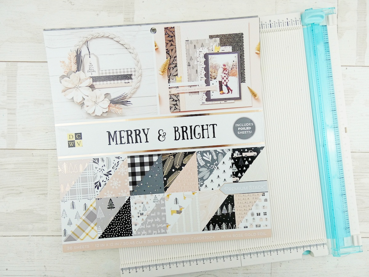 DCWV Inc Merry & Bright paper stack available at Joann Stores