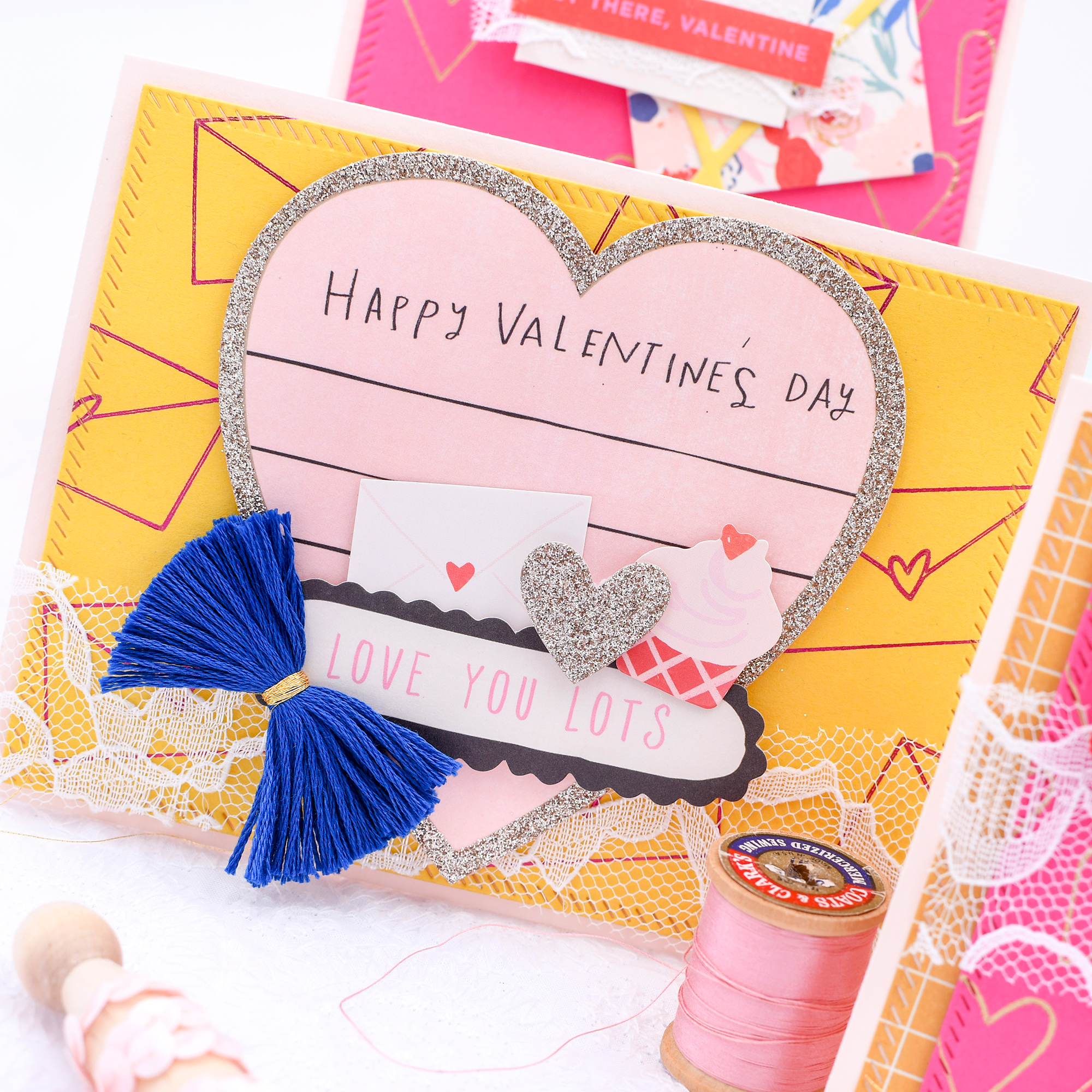 Valentine's Day Cards with the Foil Quill by Rebecca Luminarias for We R Memory Keepers