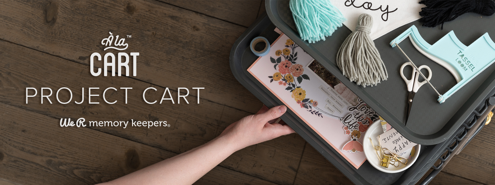 Project Cart by We R Memory Keepers