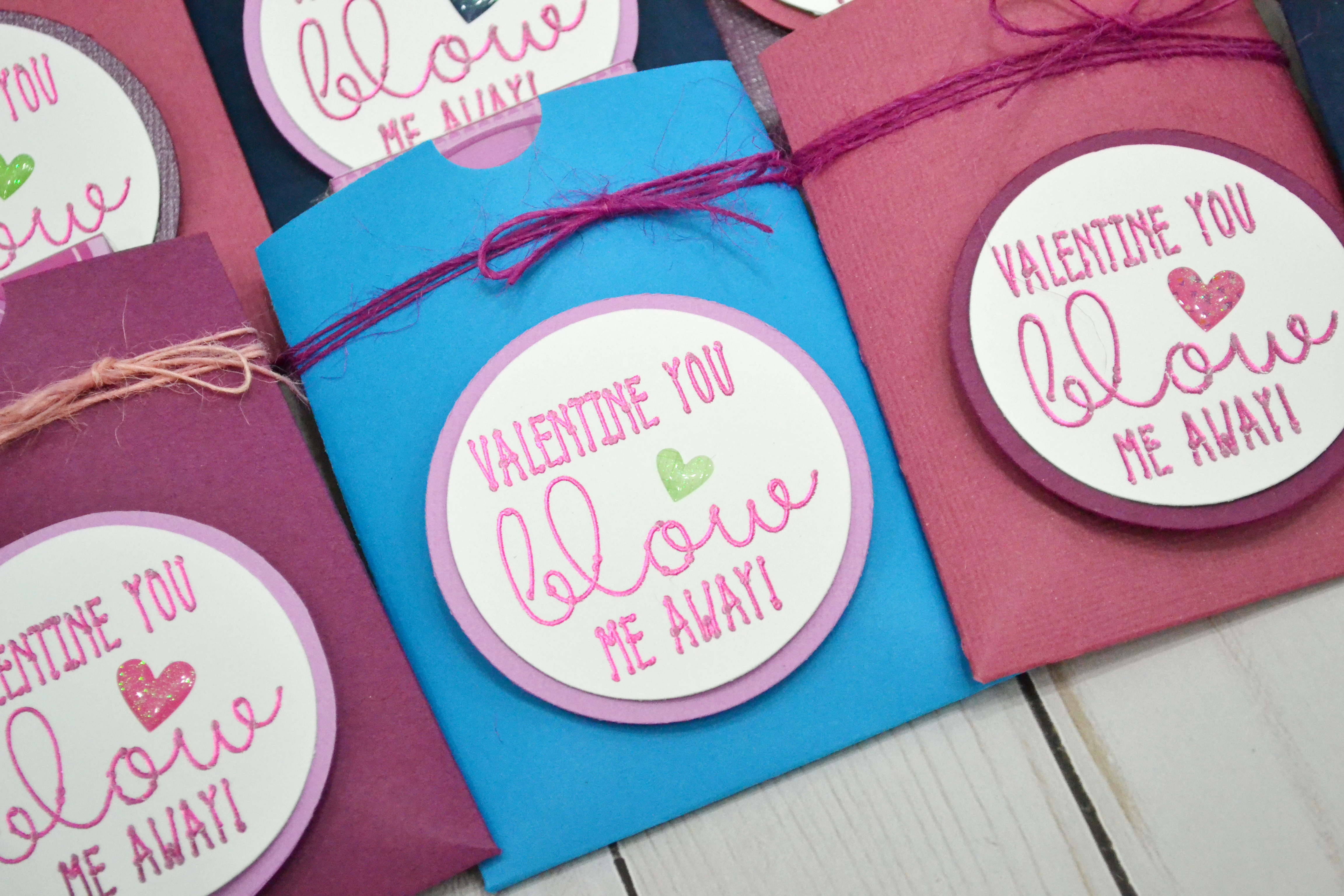 How to make class valentines with the Foil Quill by Aly Dosdall for We R Memory Keepers