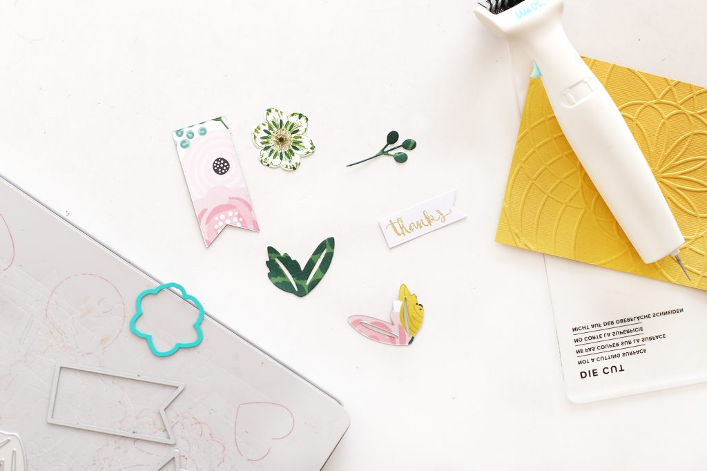 Make Spring Party Favors with the We R Memory Keepers Revolution Die Cutting and Embossing Machine