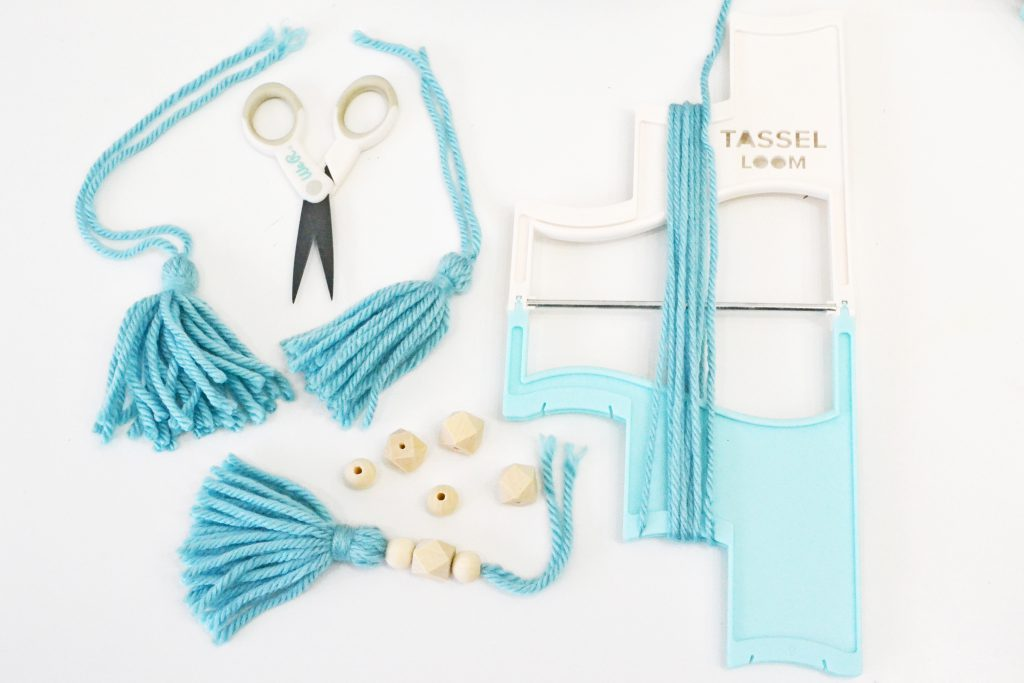 DIY Tassel Garland by Aly Dosdall for We R Memory Keepers