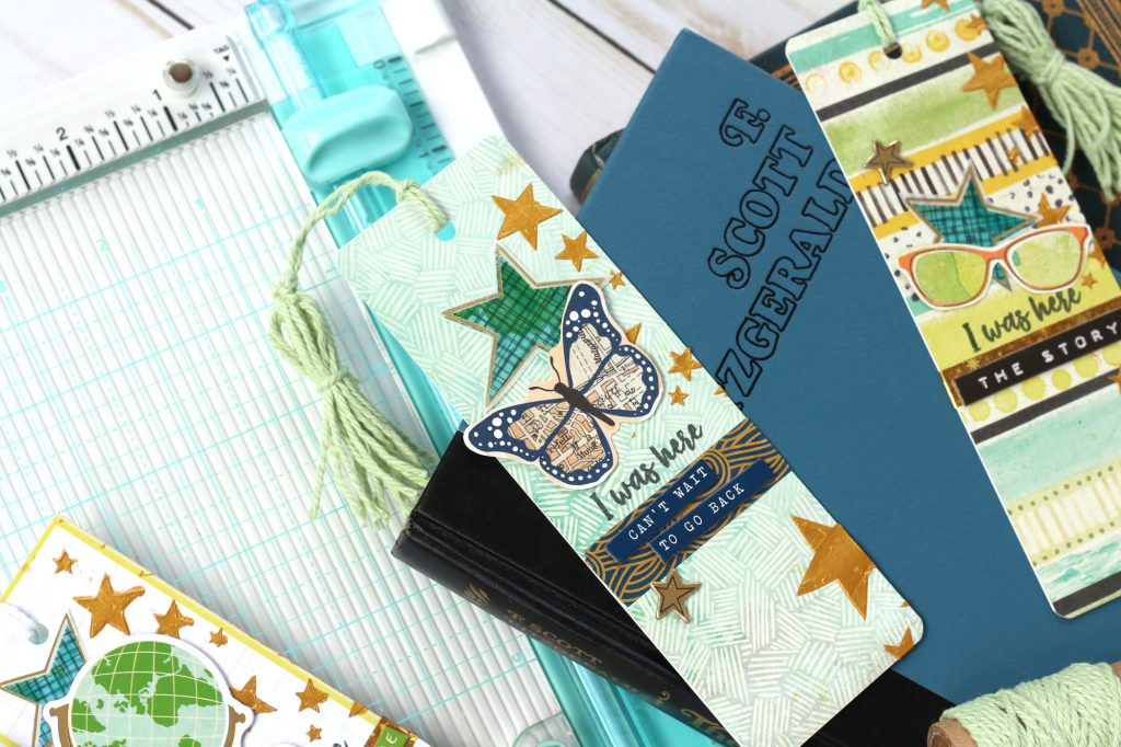 Make Bookmarks with The Works All In One Tool by We R Memory Keepers
