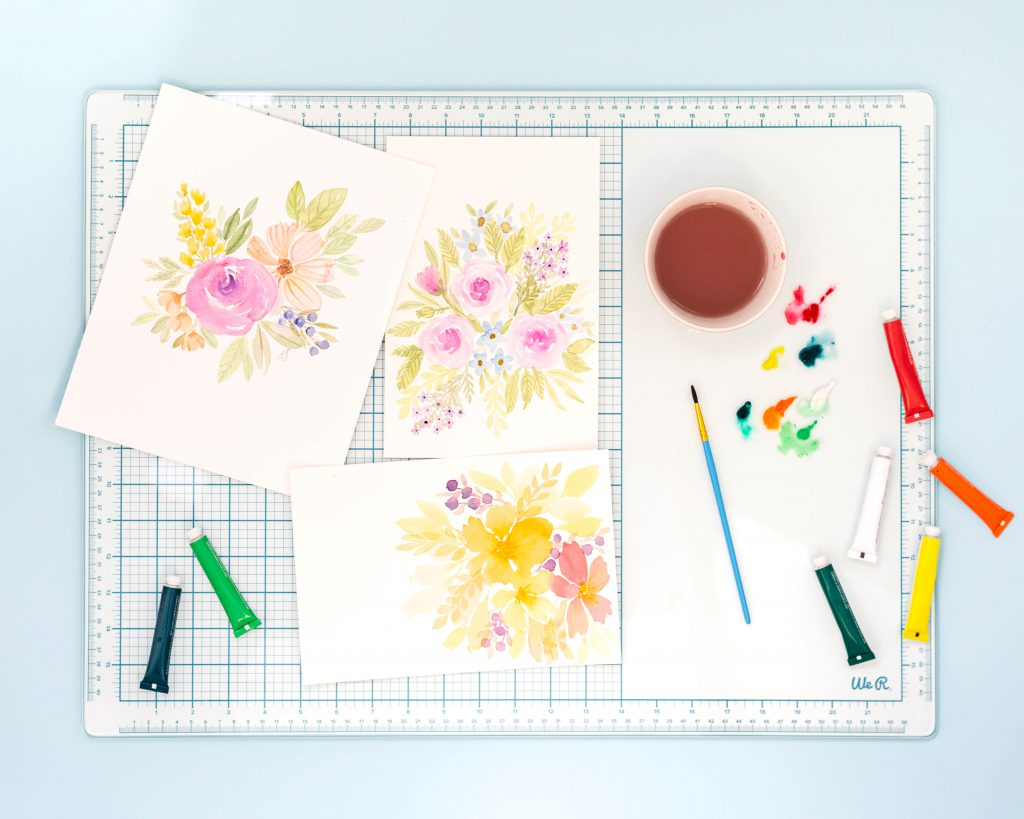 Mixed Media Glass Cutting Mat by We R Memory Keepers