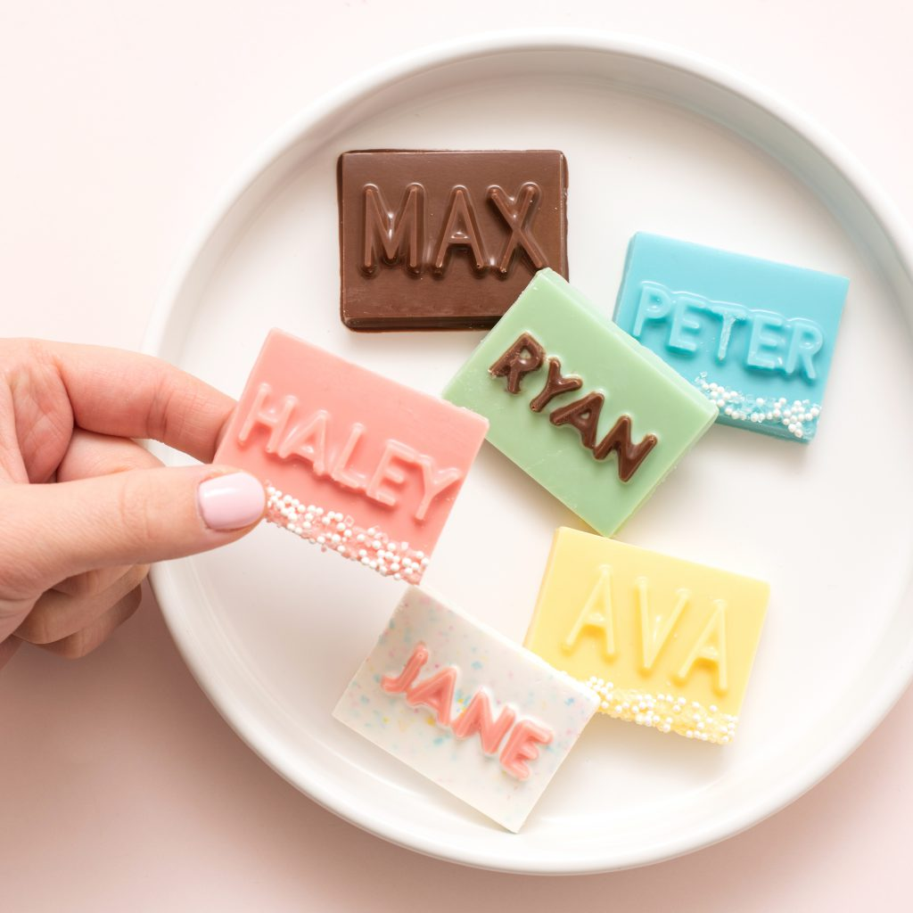DIY chocolates with the We R Memory Keepers Mold Press