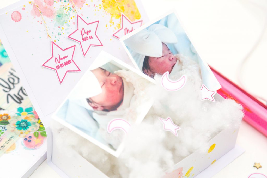 Make a Baby Gift with the Foil Quill