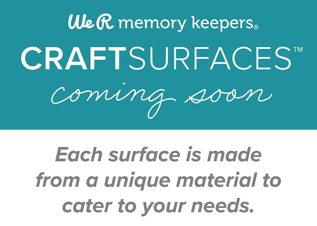 Check out the new Craft Surfaces from We R Memory Keepers now available at JOANN Stores!