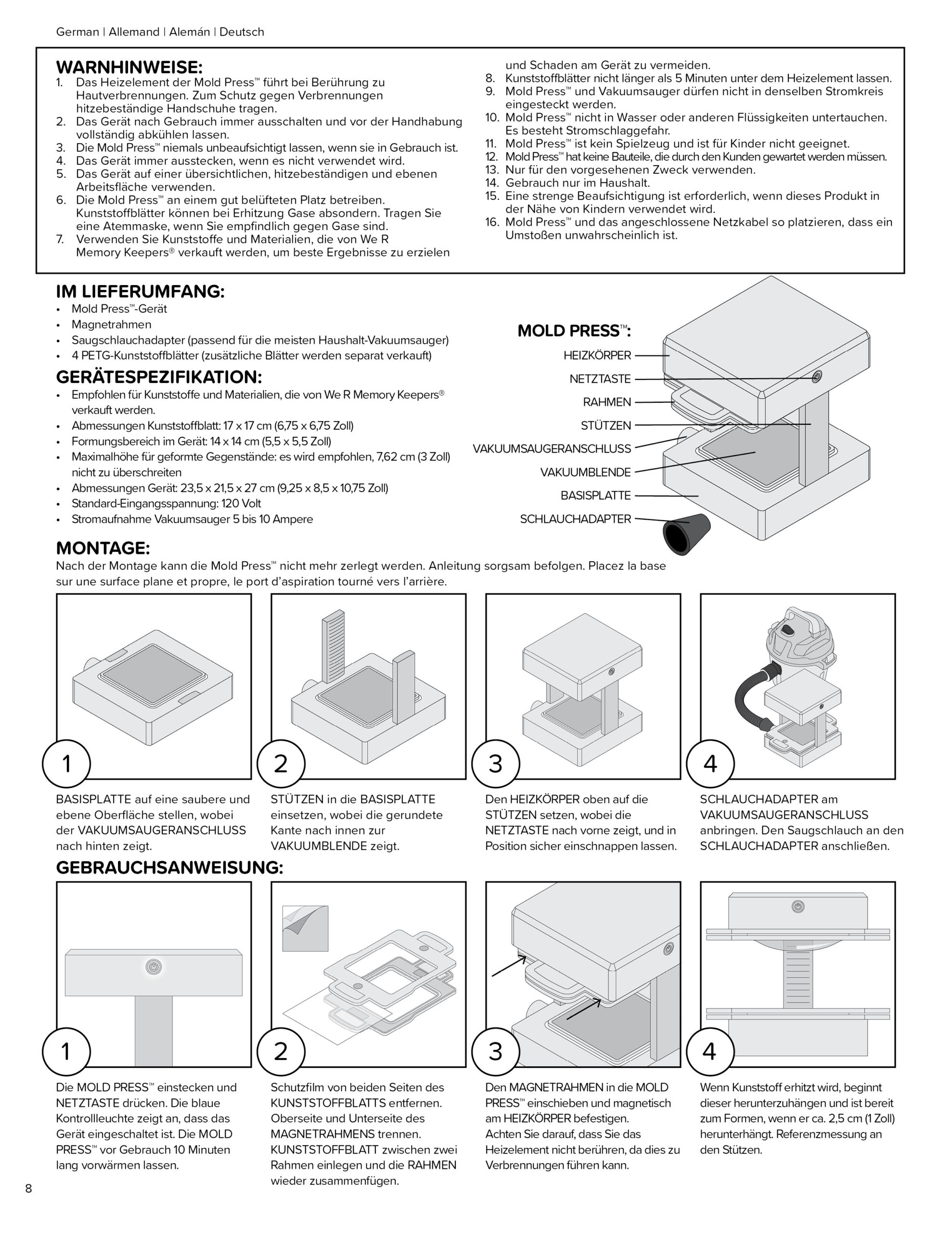 661033 WR_Instructions_MoldPress_Vacuform_V4_8