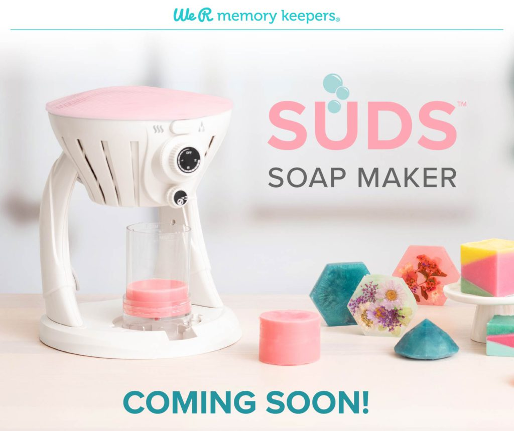 Make beautiful handmade soap with the SUDS soap maker by We R Memory Keepers!